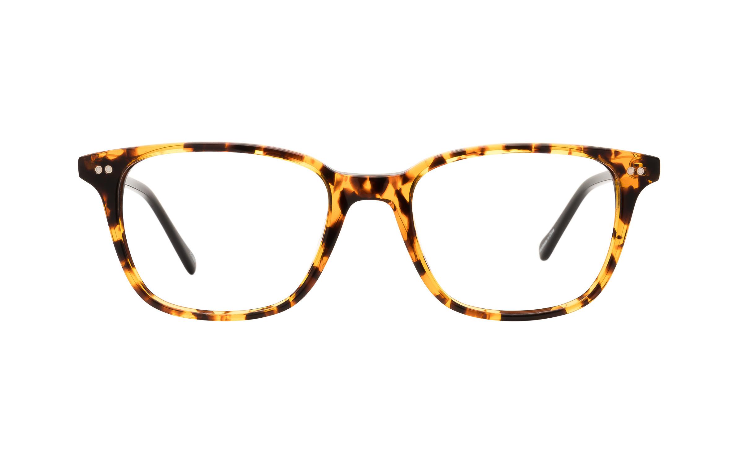 Tortoise, Brown Acetate D-Frame Derek Cardigan Glasses - Clearly Glasses Online