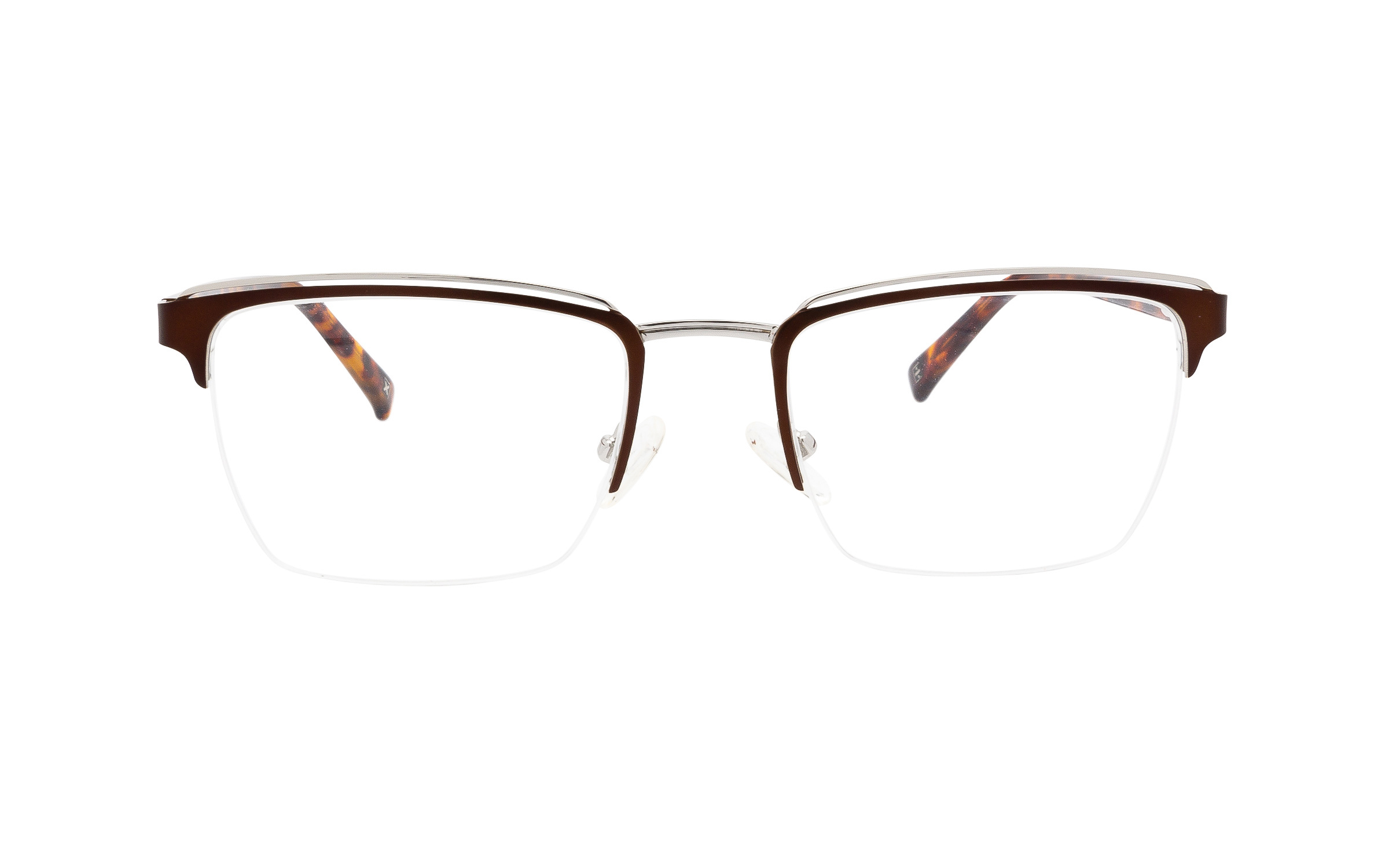 http://www.coastal.com/ - Derek Cardigan Naos DC223 C02 (51) Eyeglasses and Frame in Matte Brown/Silver | Acetate – Online Coastal