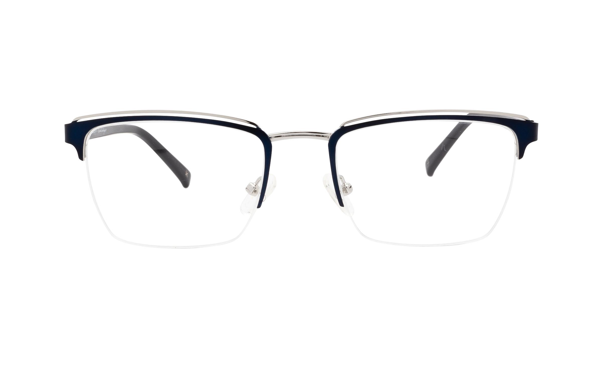 http://www.coastal.com/ - Derek Cardigan Naos DC223 C03 (51) Eyeglasses and Frame in Navy Blue/Silver | Acetate – Online Coastal