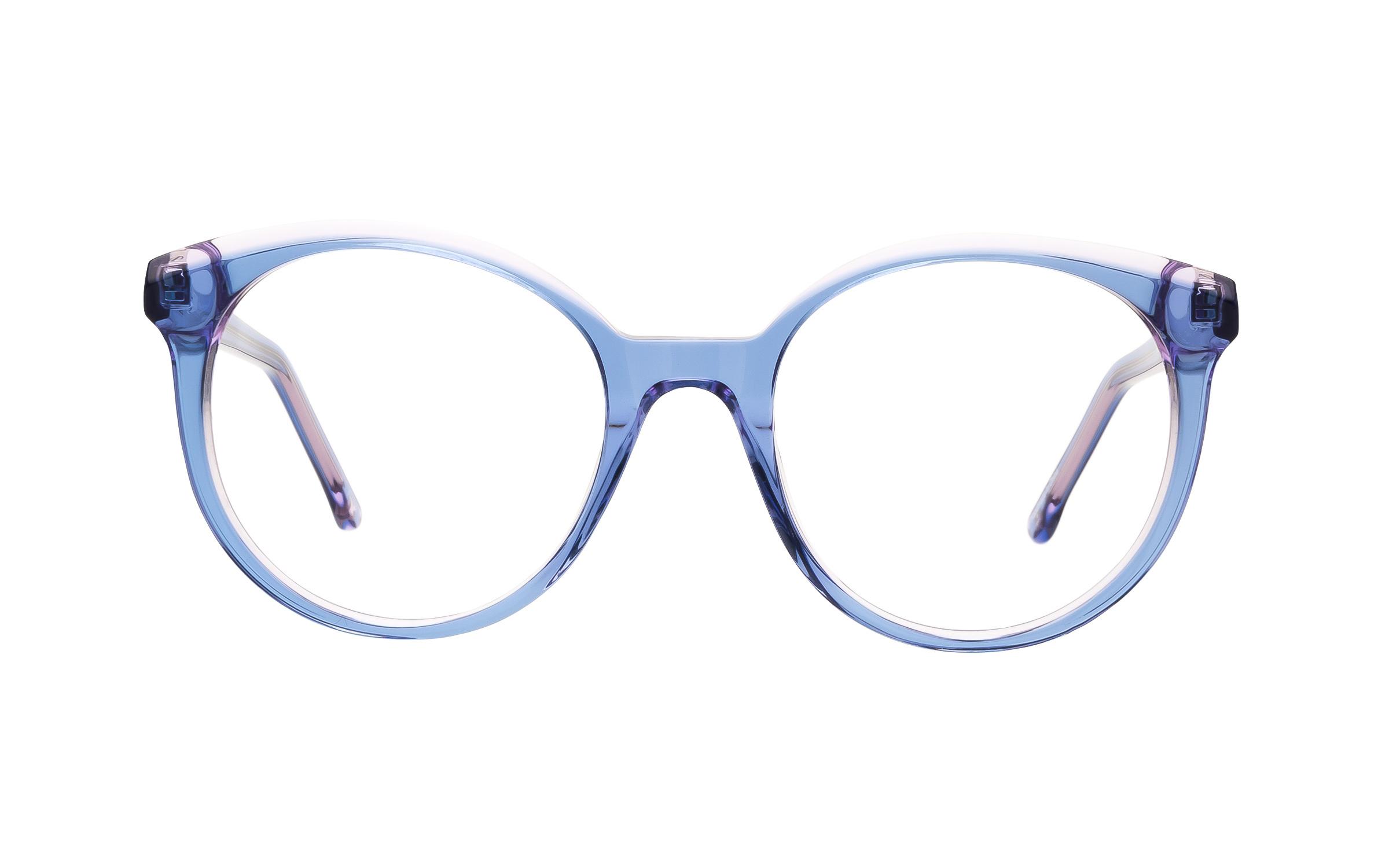 Derek Cardigan Glasses Oversized Blue/Purple/Clear Online Coastal