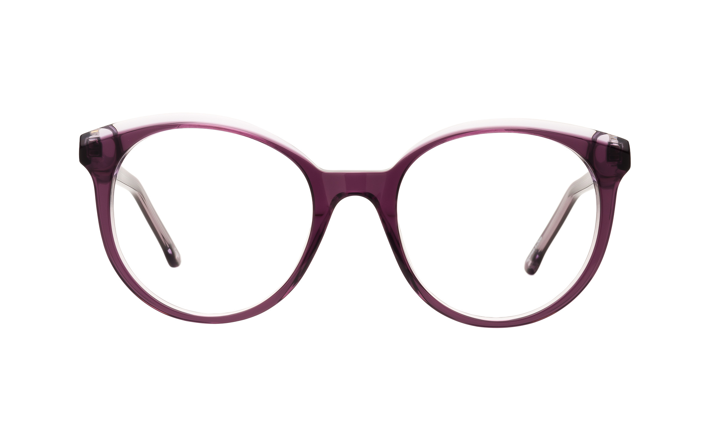 Clear, Purple Palace Derek Cardigan Glasses - Clearly Glasses Online