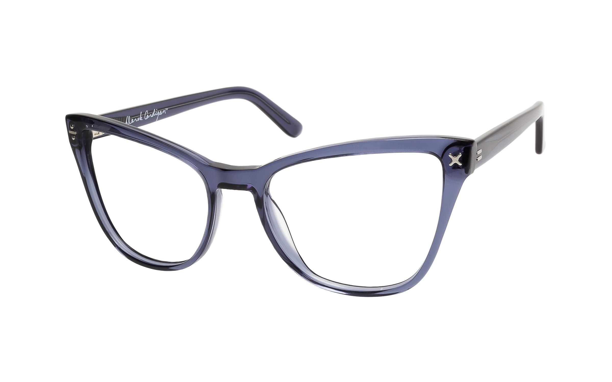 Women's Vintage Glasses Blue/Clear Derek Cardigan Online Clearly