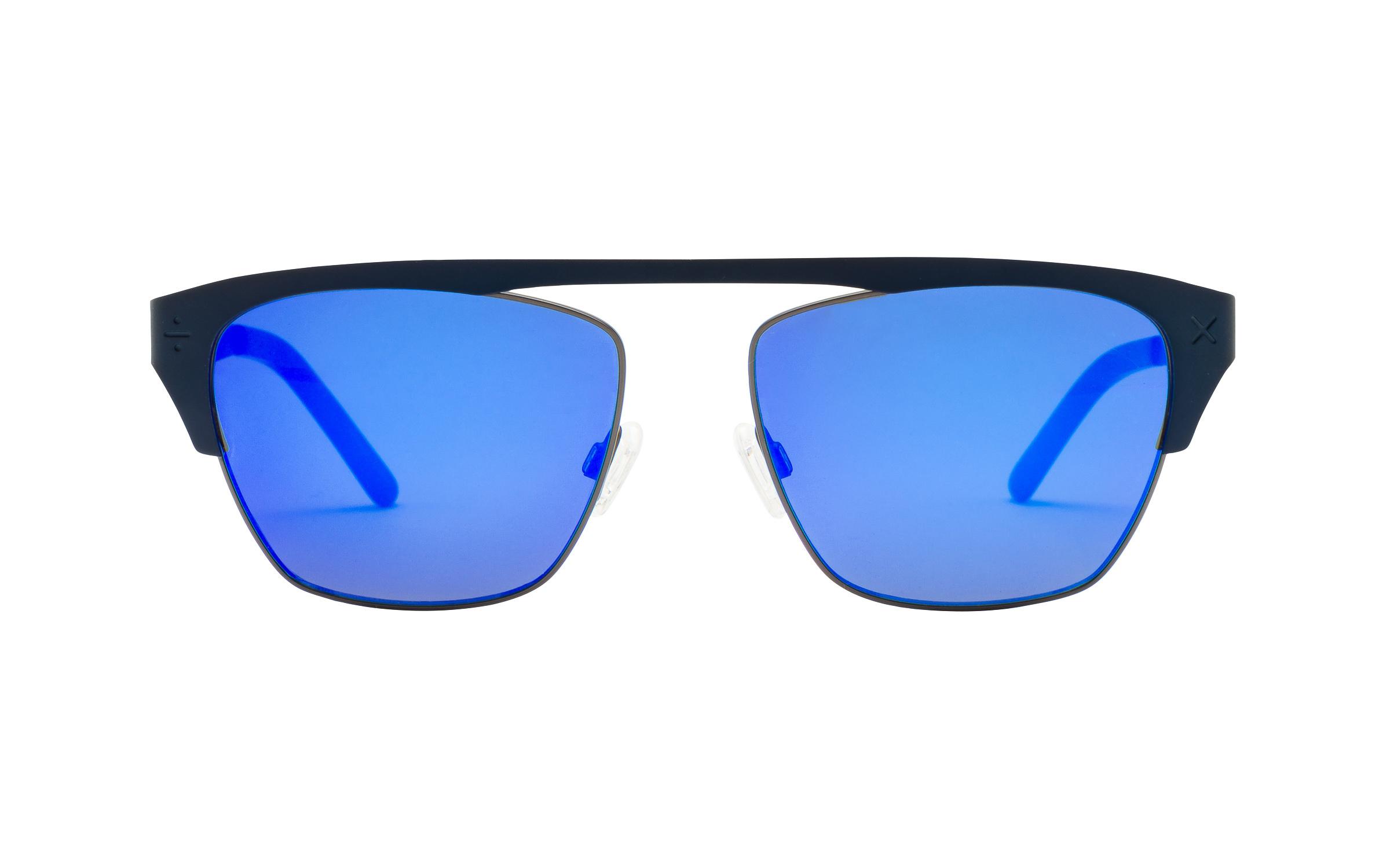 Derek Cardigan Sunglasses Round Blue Online Coastal