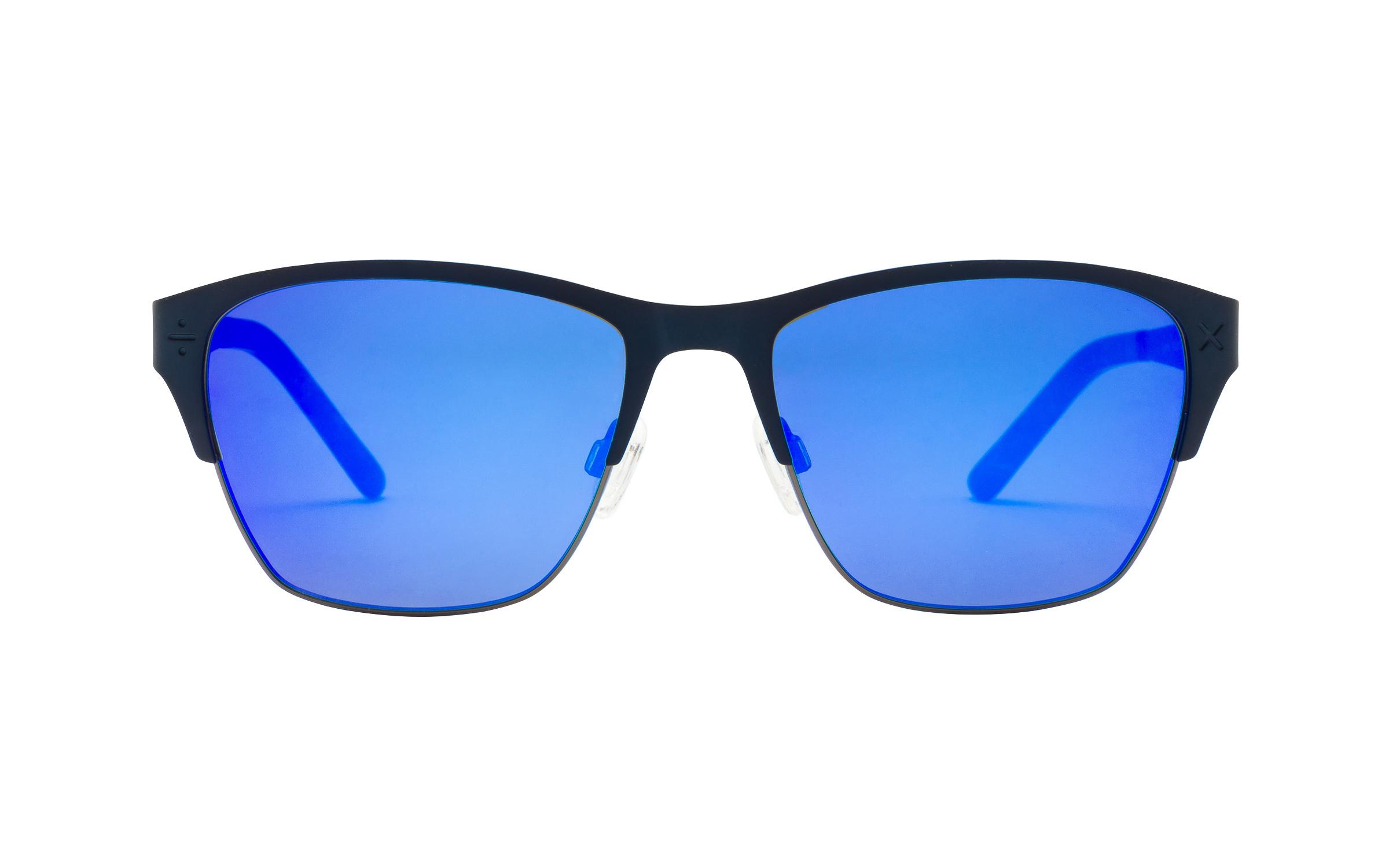 D-Frame Sunglasses Blue Derek Cardigan Online Coastal