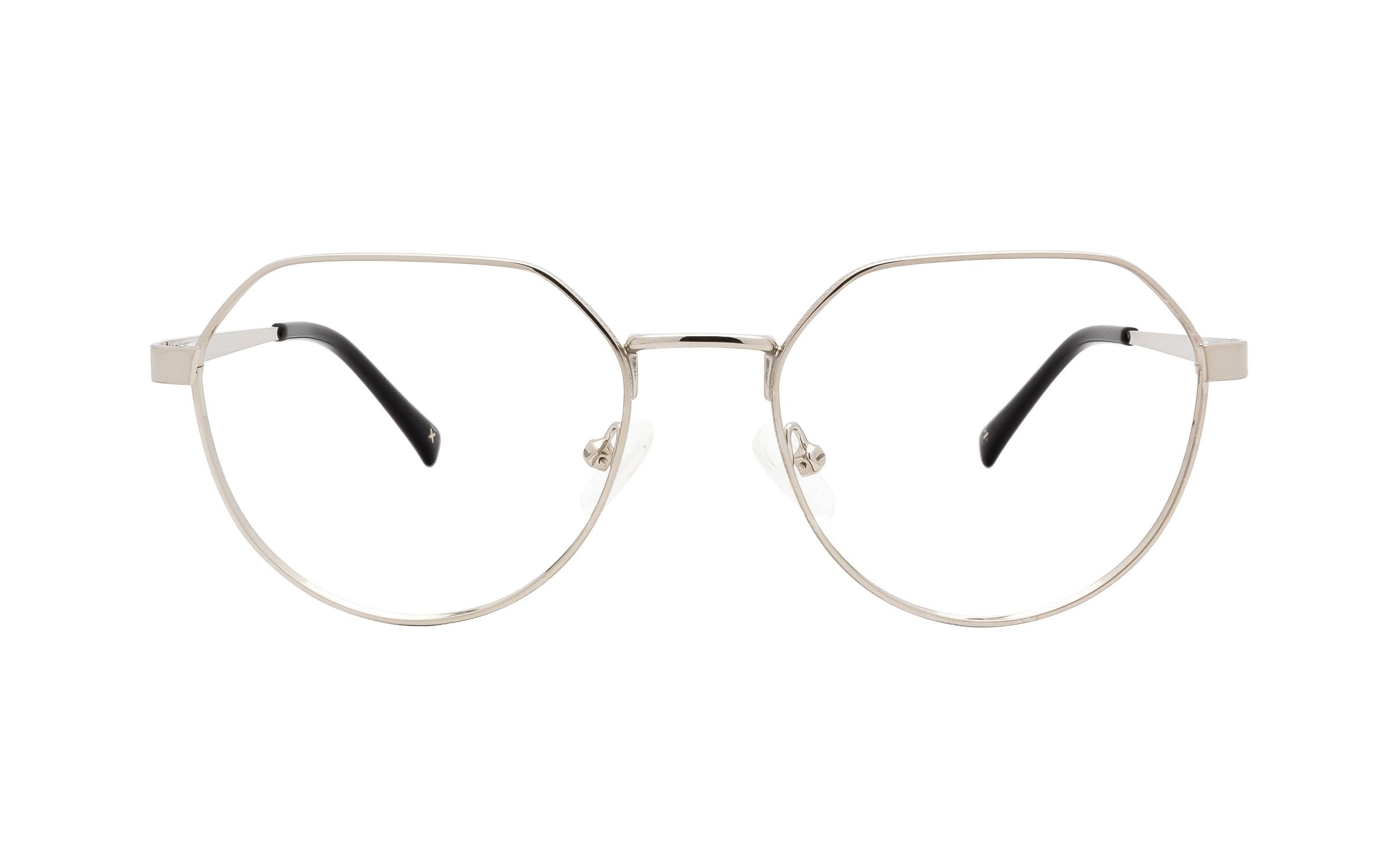 http://www.coastal.com/ - Derek Cardigan Volans DC229 C01 (51) Eyeglasses and Frame in Shiny Silver | Metal – Online Coastal