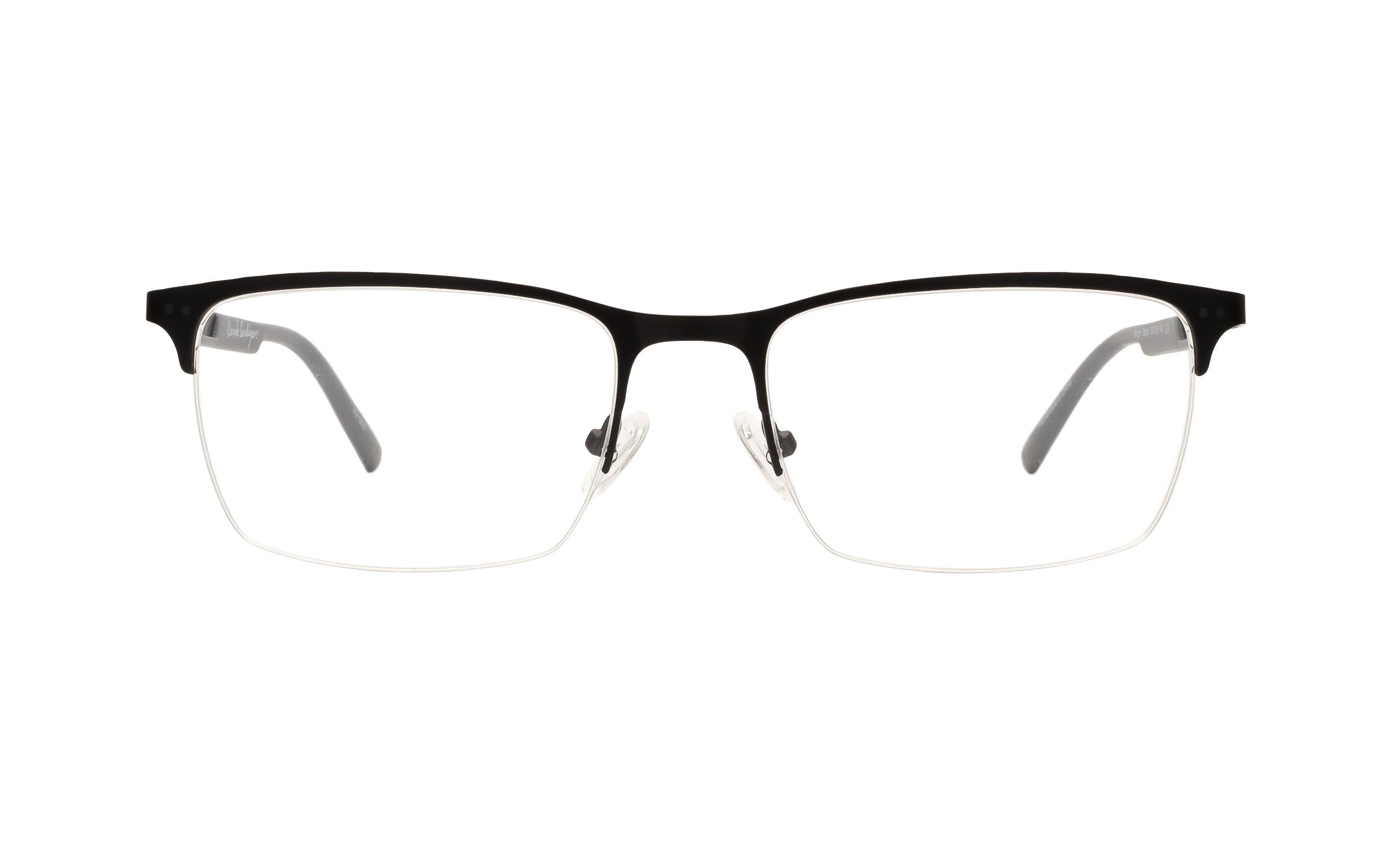 Derek_Cardigan_Mens_Glasses_Semi_Rimless_Black_Metal_Online_Coastal