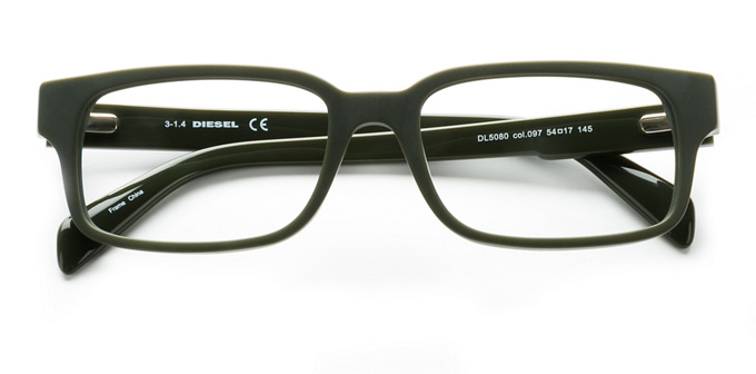 product image of Diesel DL5080 Matte Dark Green