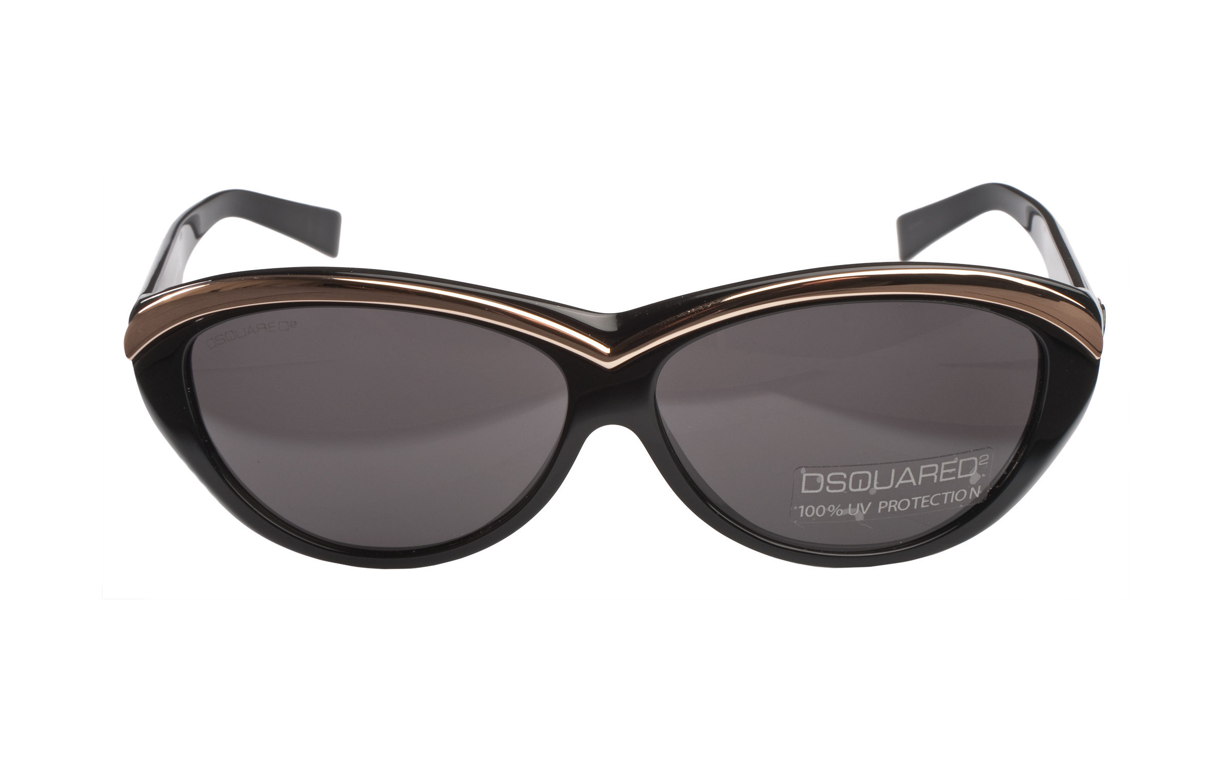 Dsquared_Sunglasses_CatEye_Black_Metal_Online_Coastal