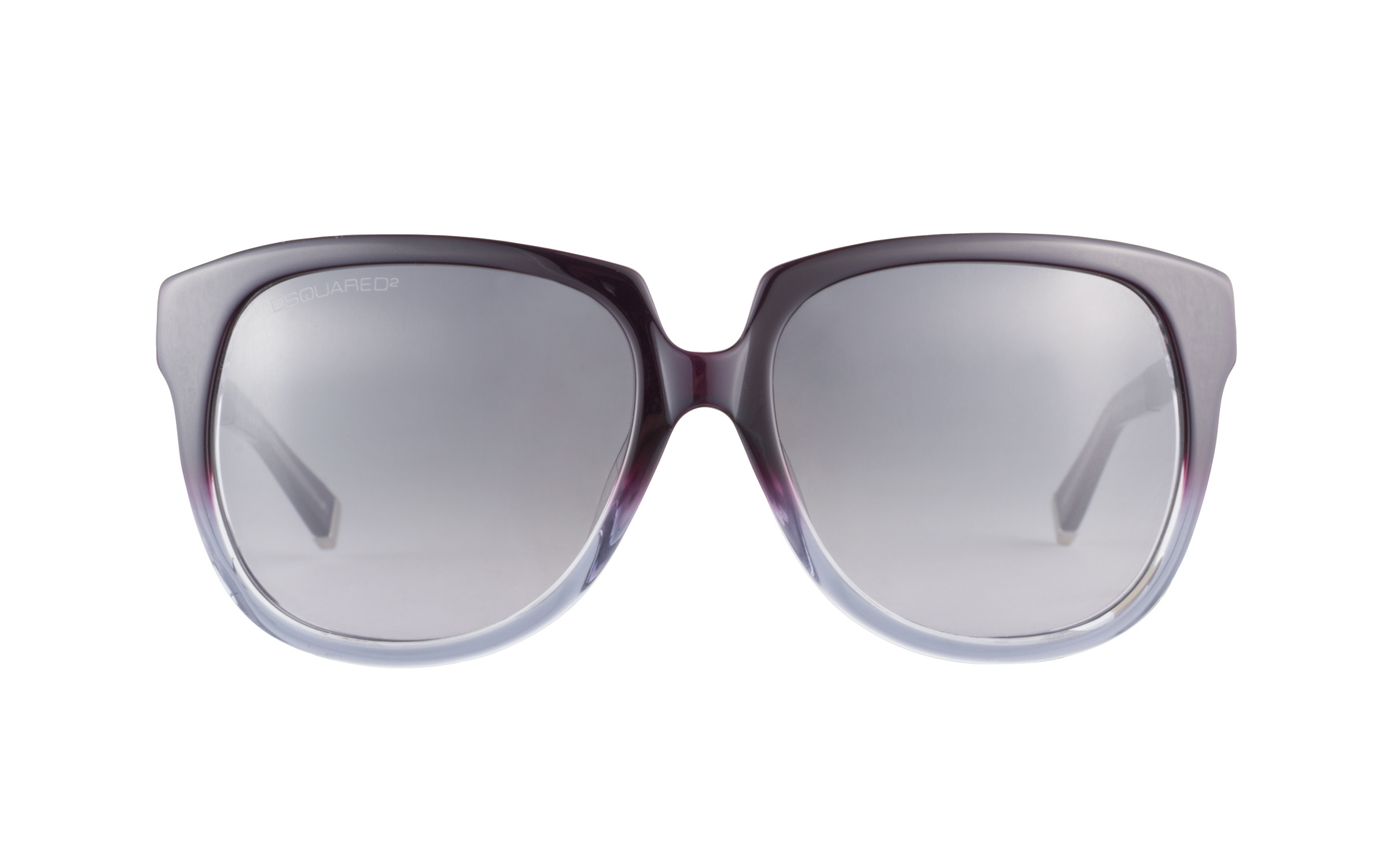 Dsquared DQ0063 83B Dark Violet Blue Fade 58 Sunglasses