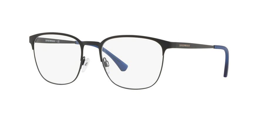 product image of Emporio Armani EA1081-55 Matte Black