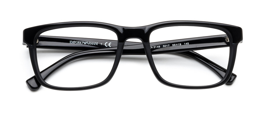 product image of Emporio Armani EA3148-55 Black