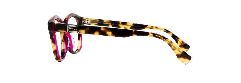 product image of Fendi 0093F-54 Havana Pink