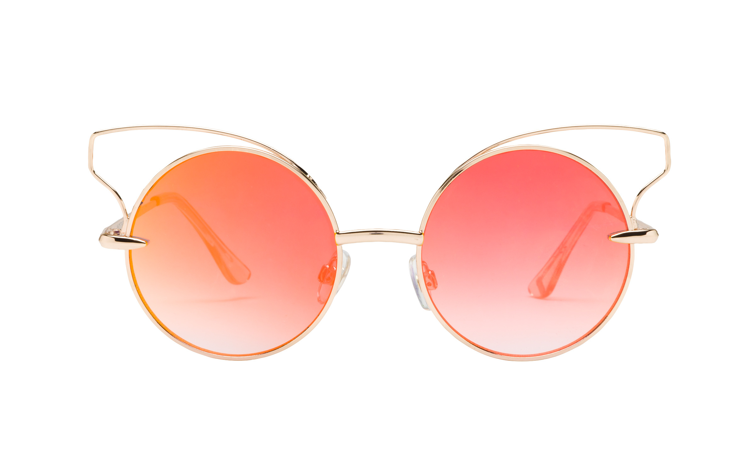 Foster Grant Gold Metal Sunglasses - Clearly Glasses Online