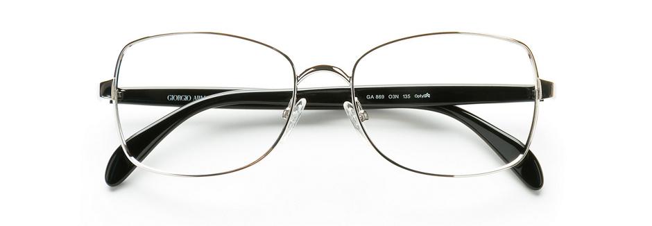 product image of Giorgio Armani GA869 Palladium Crystal Black