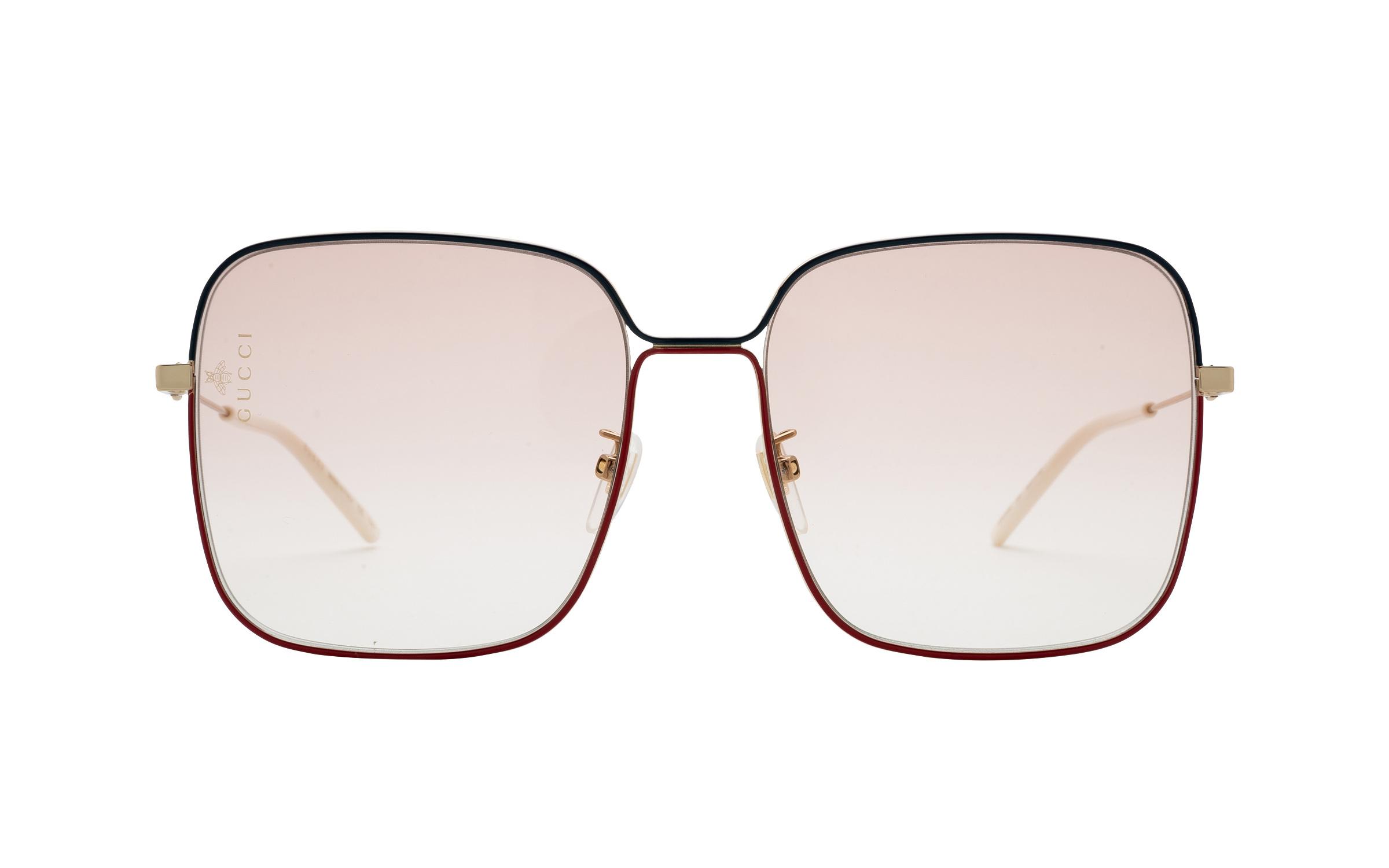 http://www.coastal.com/ - Gucci GG0443S 005 60 Sunglasses in Gold | Acetate/Metal – Online Coastal