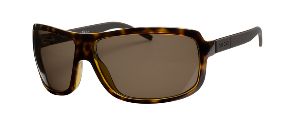 product image of Gucci GG1638S-66 Havana Matte Brown Polarized