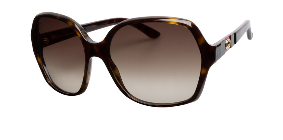 product image of Gucci GG3538S-59 Dark Havana