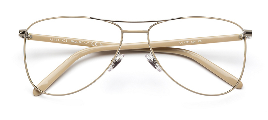 product image of Gucci GG4218-55 Beige Palladium