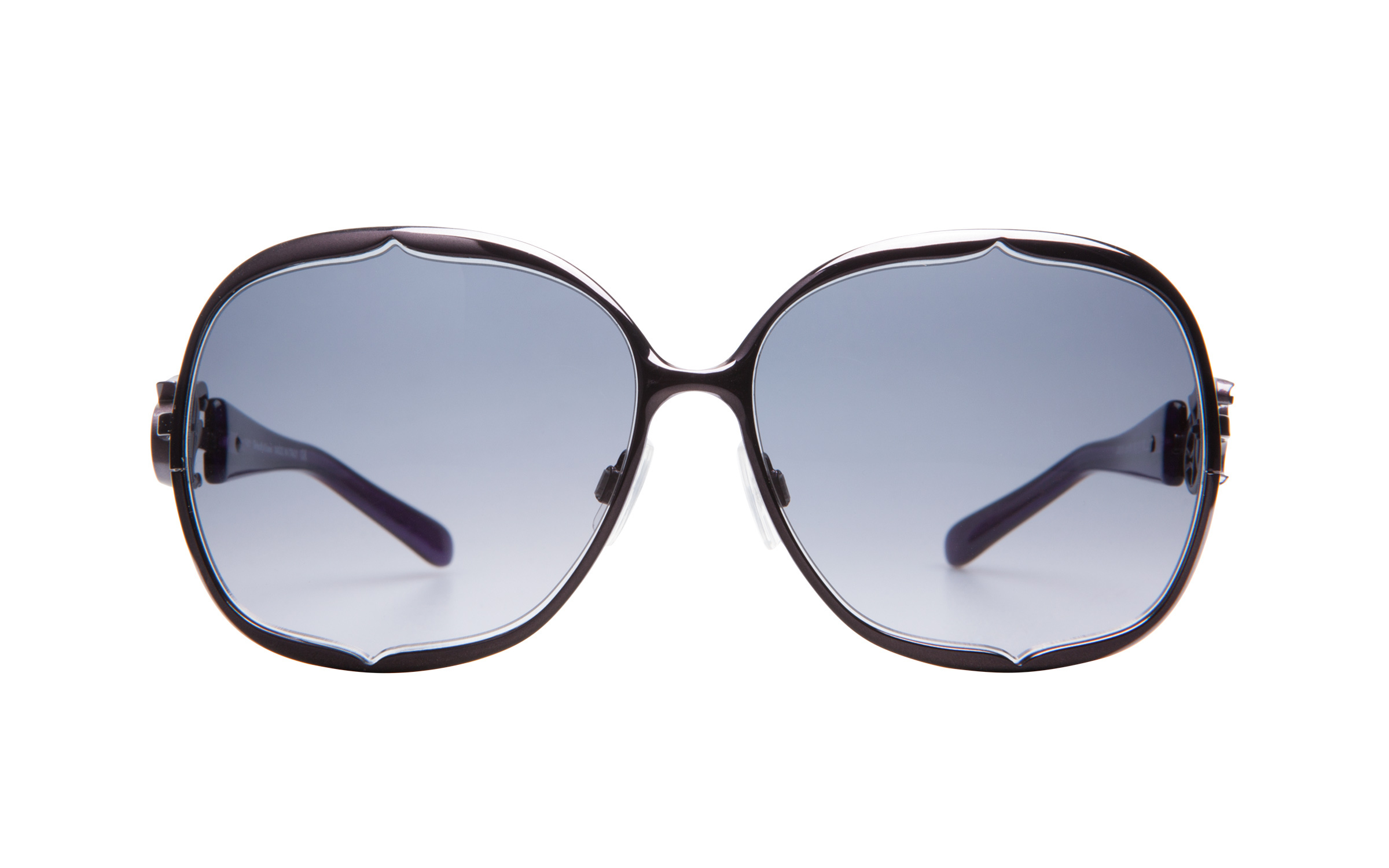 John Galliano JG0009 81B Purple 63 Sunglasses
