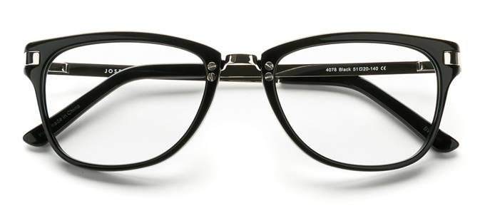 product image of Joseph Marc 4078 Black Silver