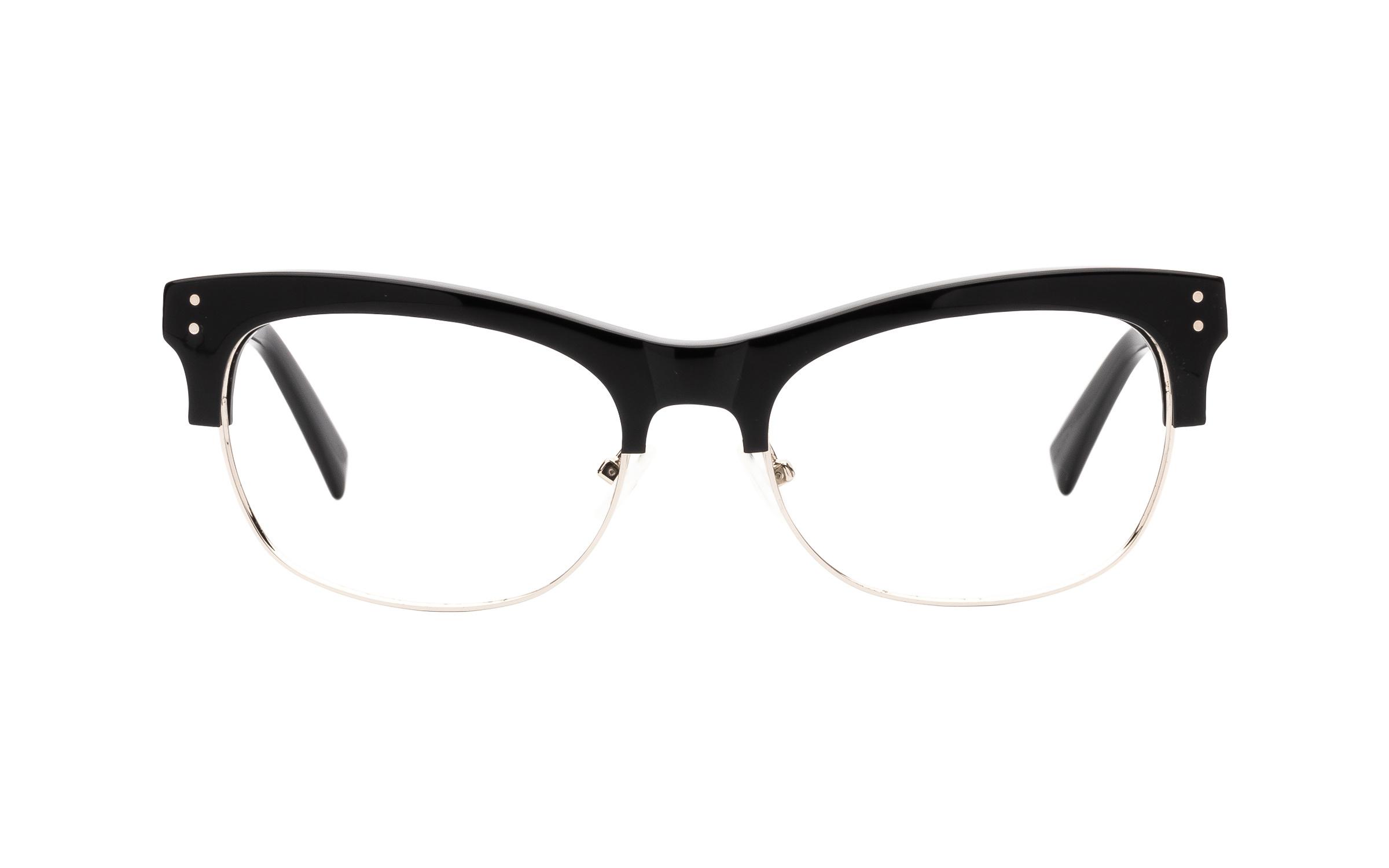 http://www.coastal.com/ - Joseph Marc 4115 Silver (55) Eyeglasses and Frame in Black | Acetate/Plastic – Online Coastal