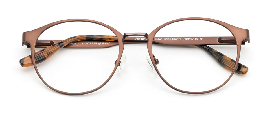 product image of Joseph Marc Armour-53 Matte Brown Shiny Bronze