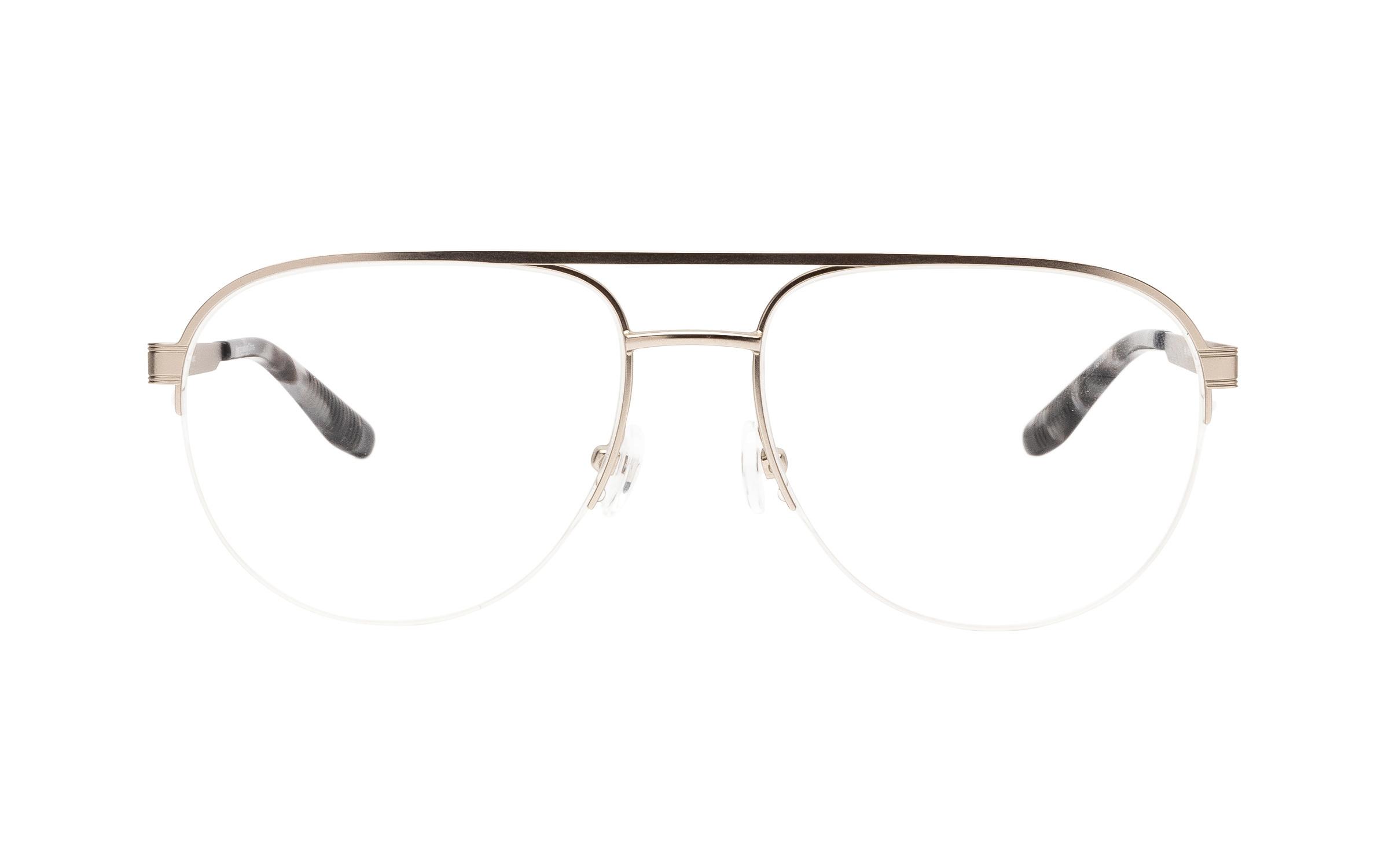 Joseph Marc Bell (54) Eyeglasses and Frame in Matte Silver | Metal - Online