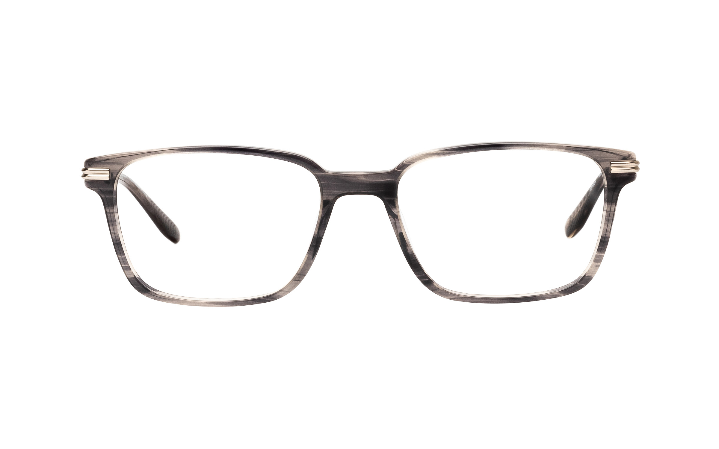 Joseph Marc Men's Bixby (55) Eyeglasses and Frame in Grey Brown Horn | Acetate/Metal