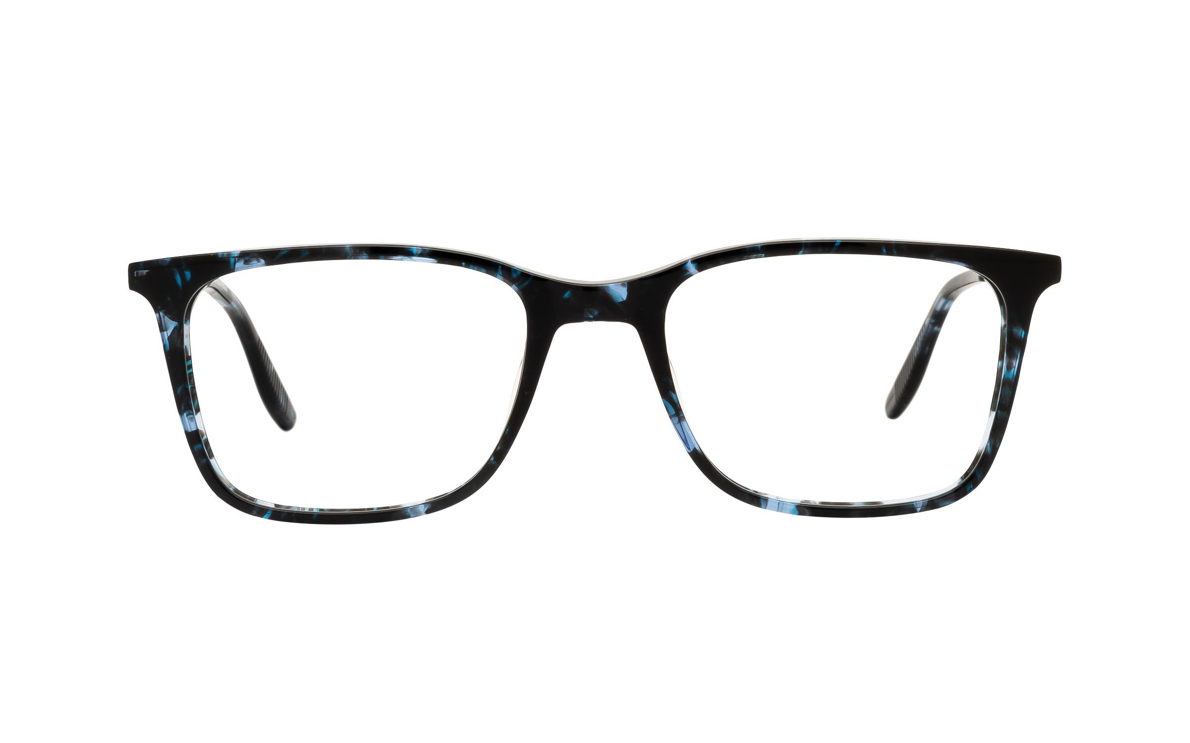 Joseph Marc Men's Boyd JM061 C03 (52) Eyeglasses and Frame in Dark Blue Havana Blue/Tortoise | Acetate/Metal