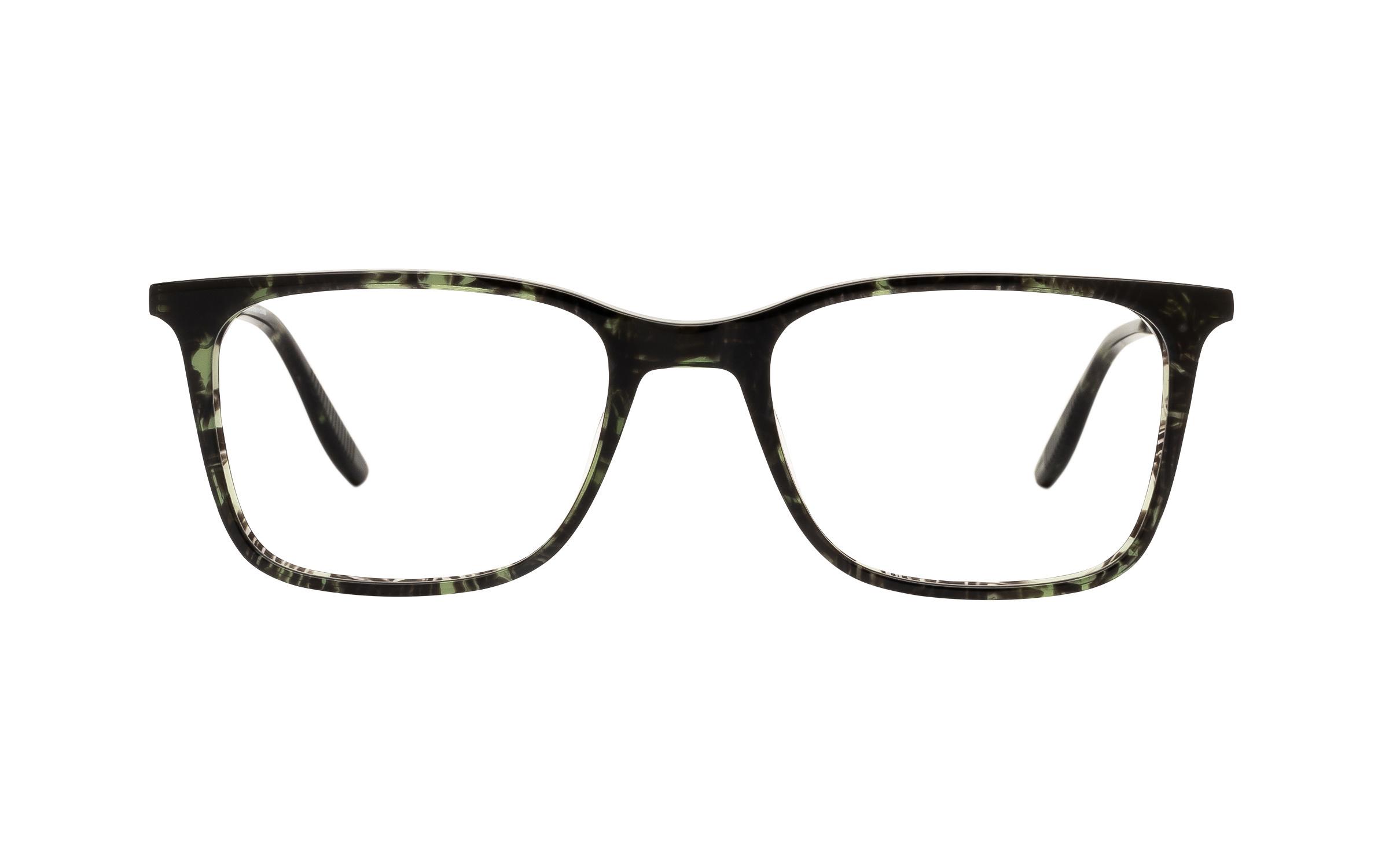 Joseph Marc Boyd JM061 C04 (52) Eyeglasses and Frame in Dark Khaki Havana Green/Tortoise | Acetate/Metal - Online Coastal