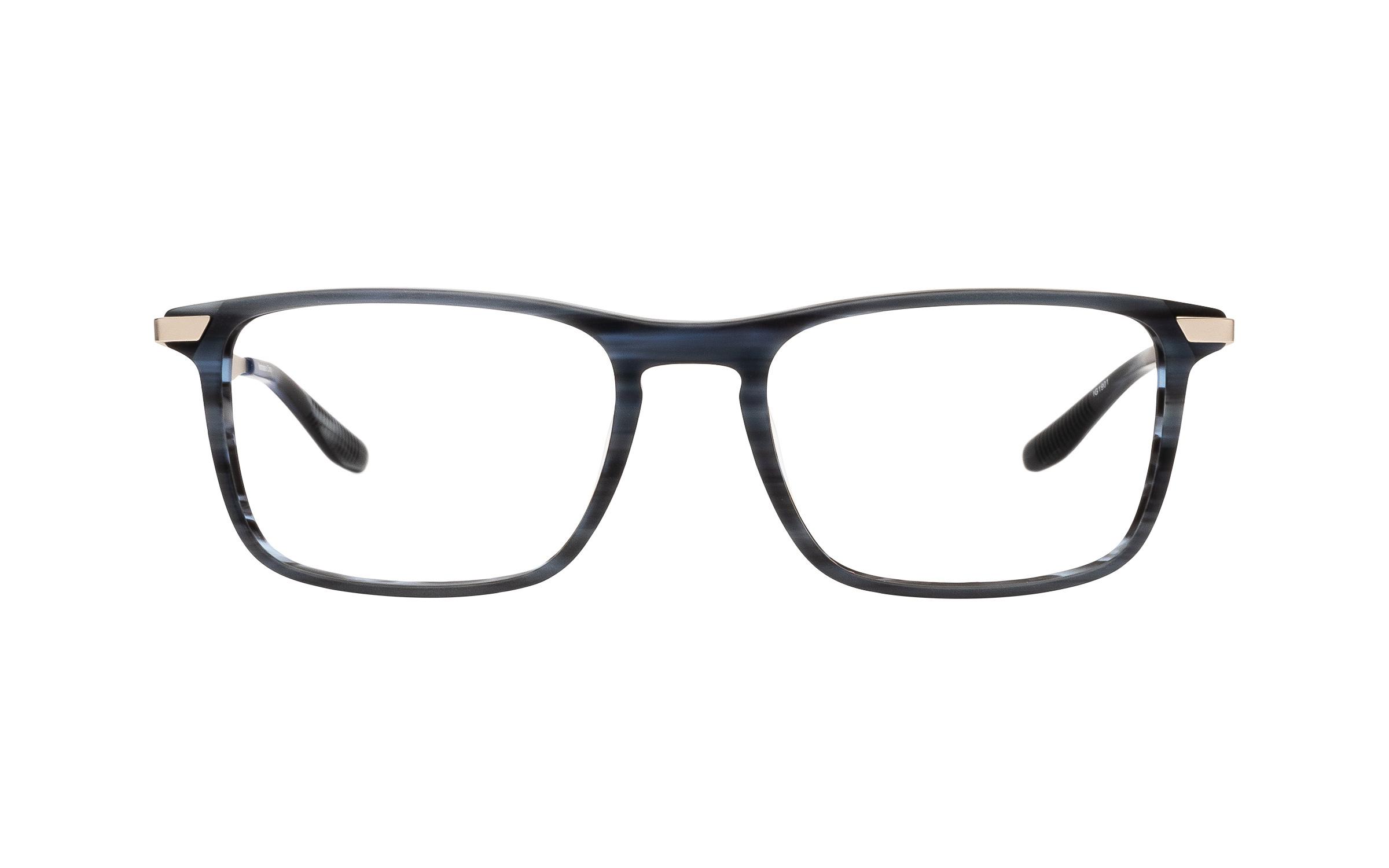 Joseph Marc Darcy (53) Eyeglasses and Frame in Matte Horn Blue | Acetate/Metal - Online Coastal