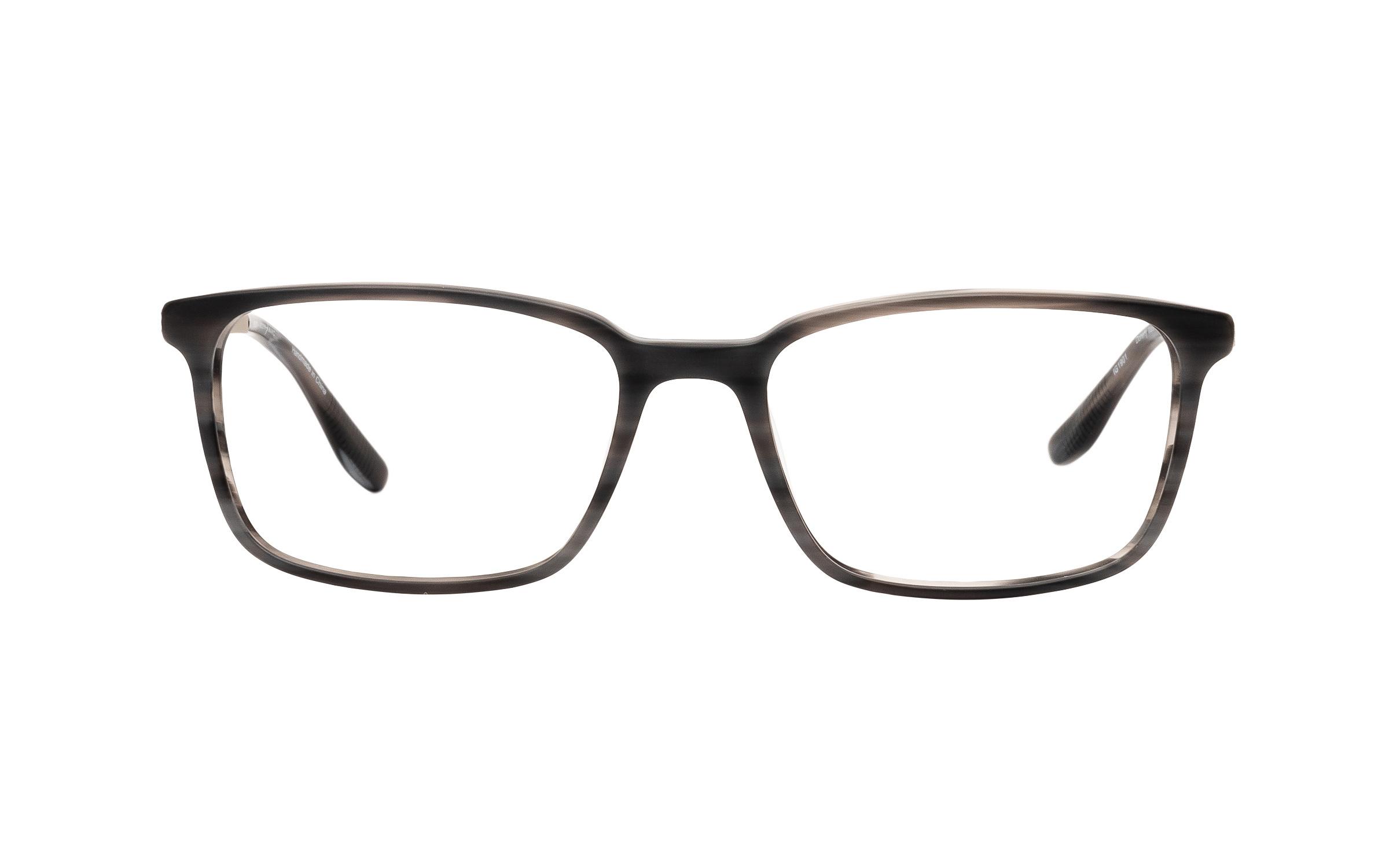 Joseph Marc Men's Doherty (53) Eyeglasses and Frame in Matte Grey Horn | Acetate/Metal