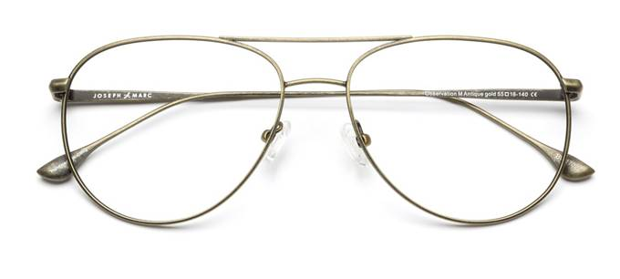 Gold frame glasses - buy gold rimmed glasses online | Coastal
