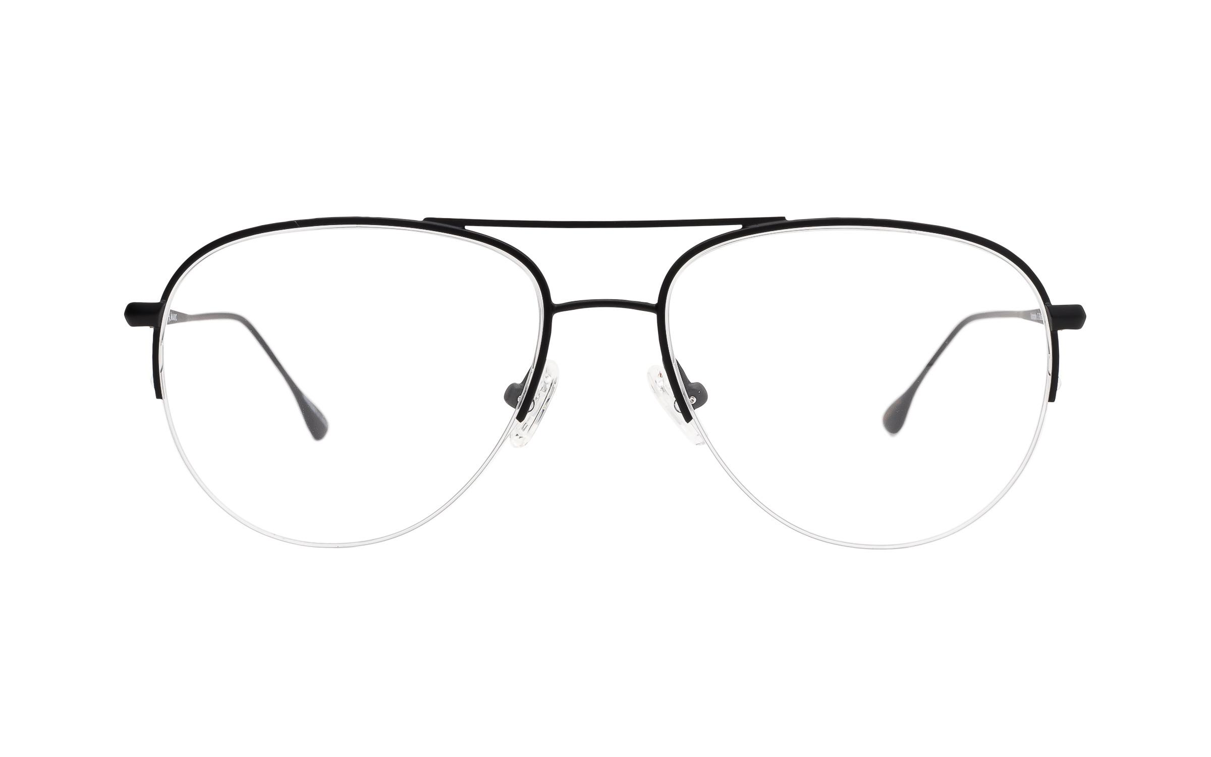 Black Metal Vintage Joseph Marc Glasses - Clearly Glasses Online