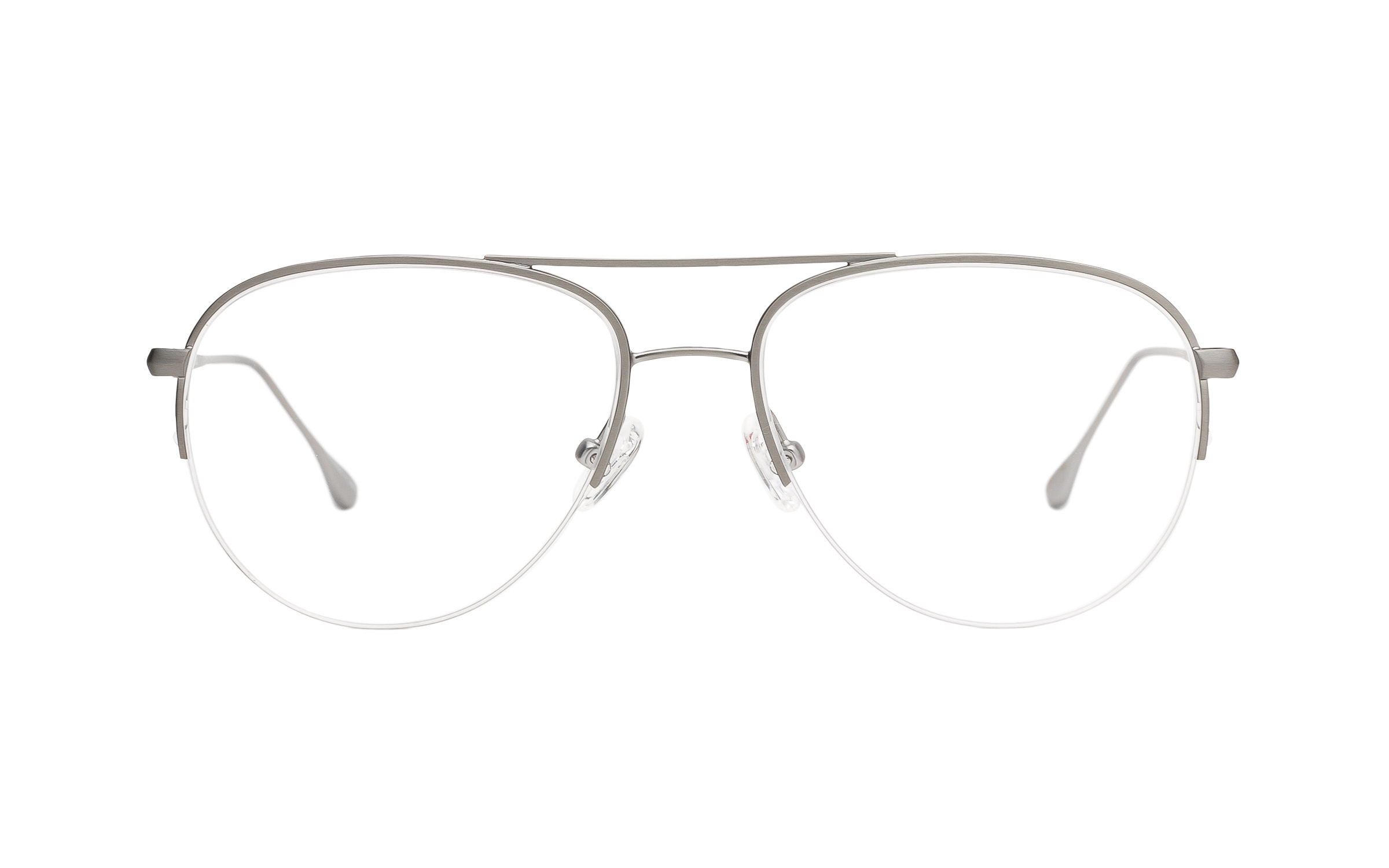 Grey, Silver Metal Vintage Joseph Marc Glasses - Clearly Glasses Online