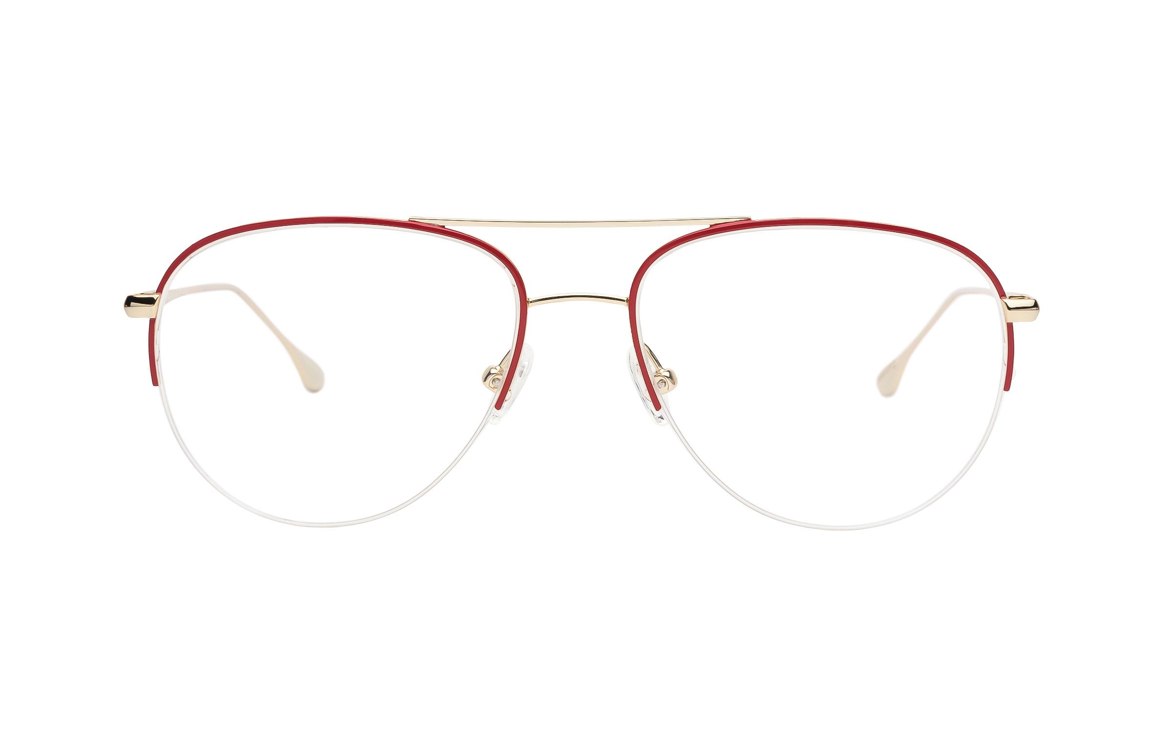 Joseph Marc Glasses Vintage Red/Gold Metal Online Clearly