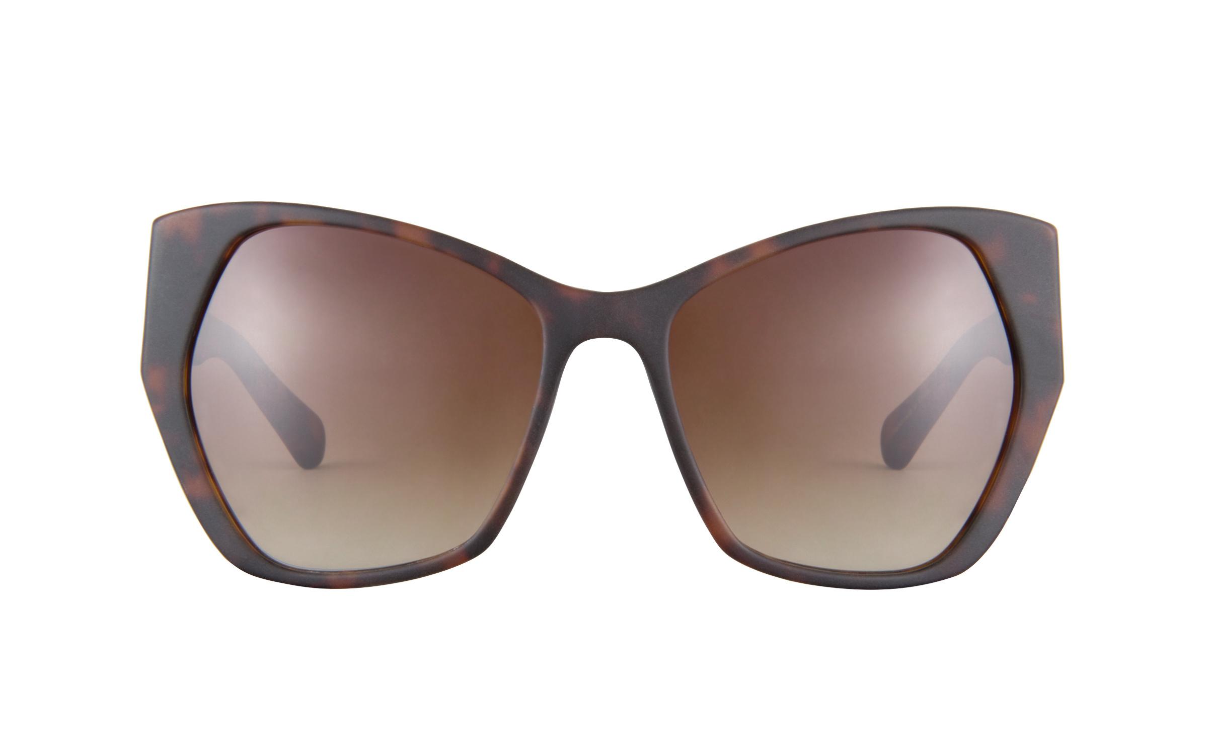 Kam Dhillon 301S Matte Havana Sunglasses