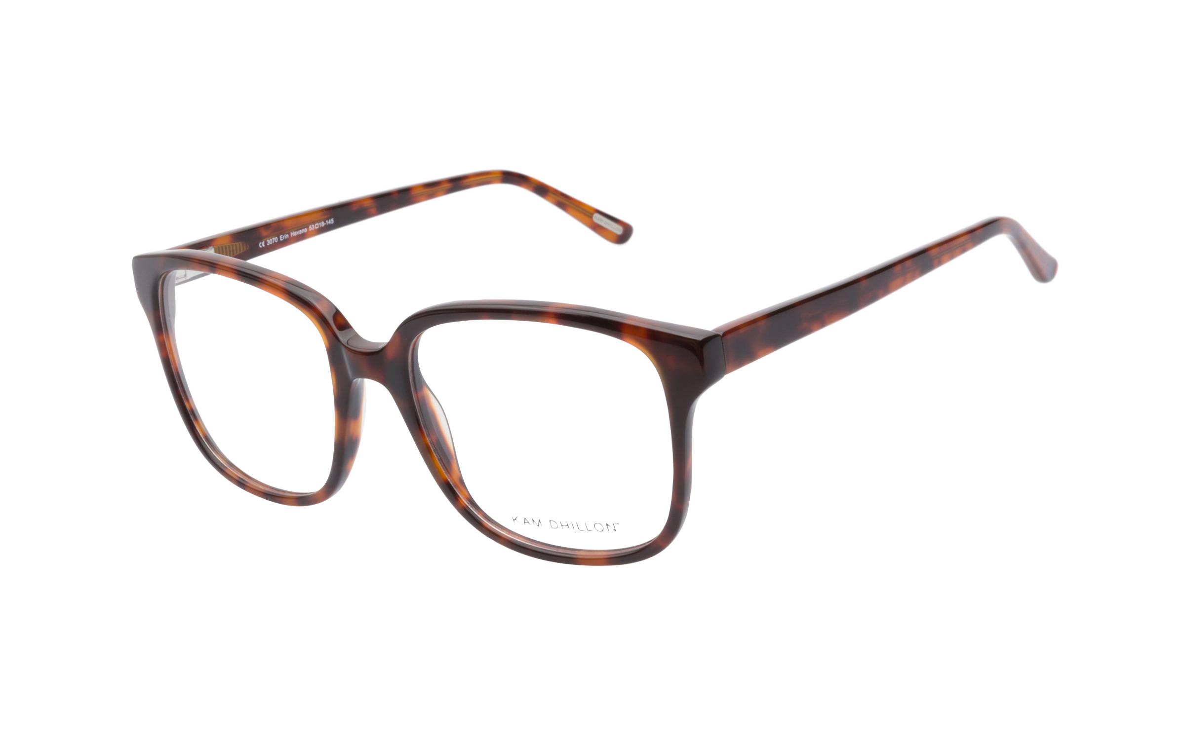 Women's Square Glasses Tortoise Kam Dhillon Online Clearly