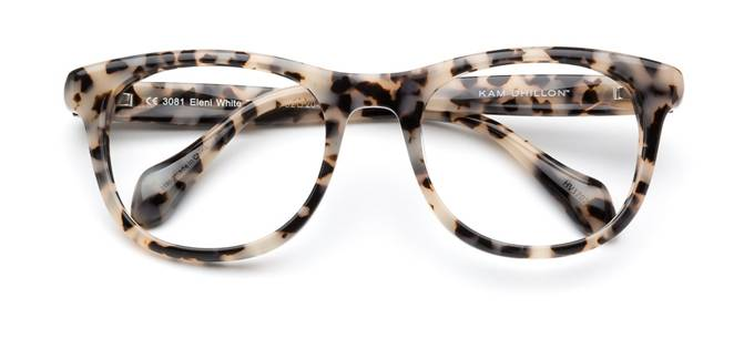 product image of Kam Dhillon Eleni White Tortoise