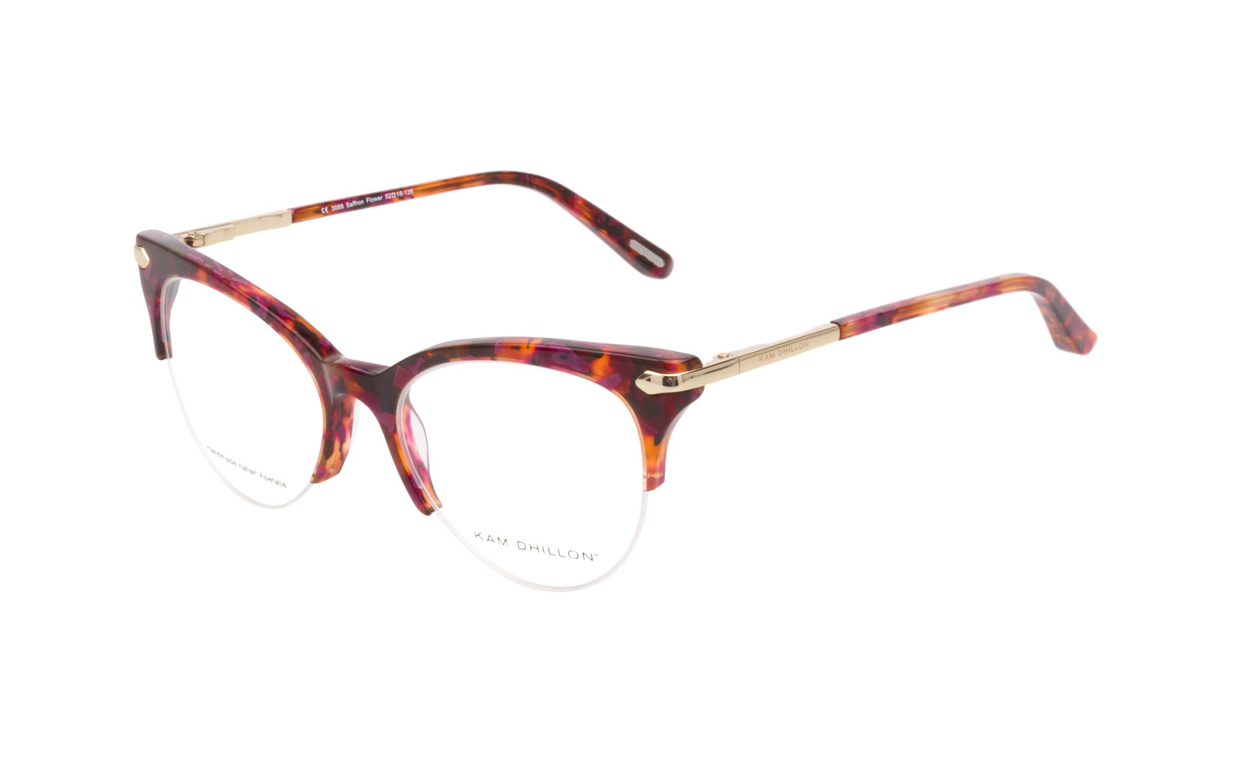 Women's Vintage Glasses Tortoise/Purple Kam Dhillon Online Clearly