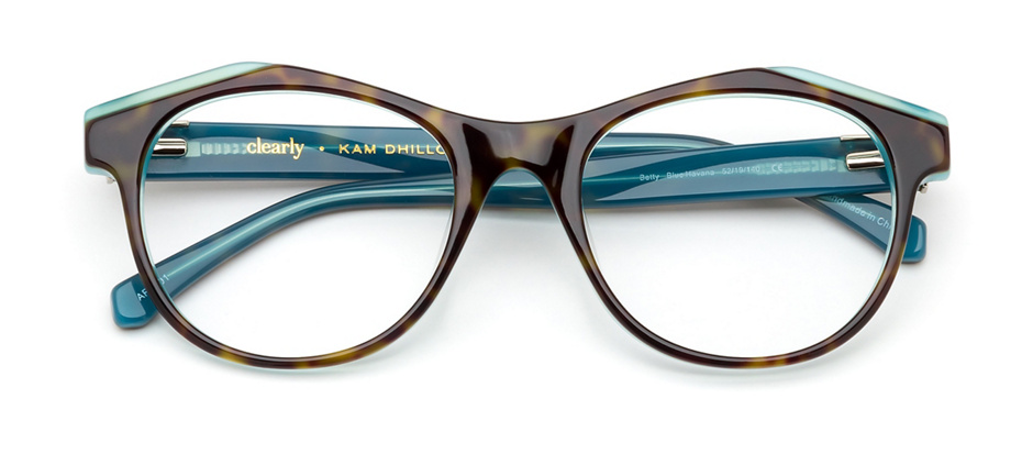 product image of Kam Dhillon Betty-52 Blue Havana