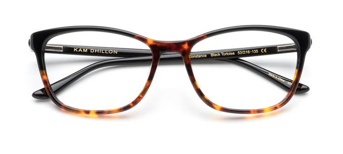 868224828a5 product image of Kam Dhillon Constance-53 Black Tortoise