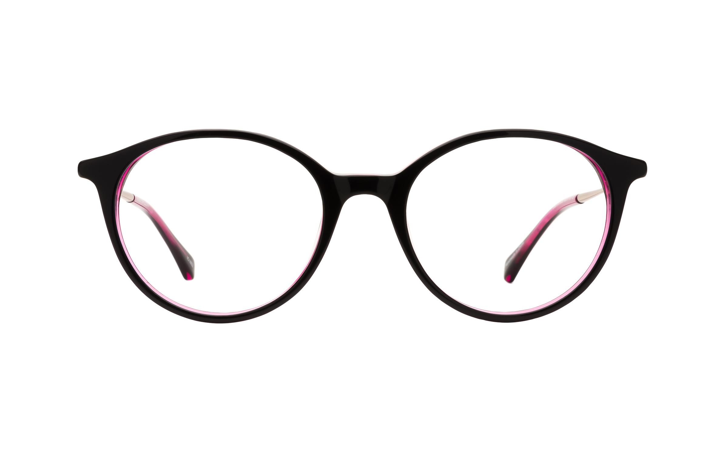 Kam_Dhillon_Womens_Glasses_Round_BlackPurplePink_PlasticMetal_Online_Coastal