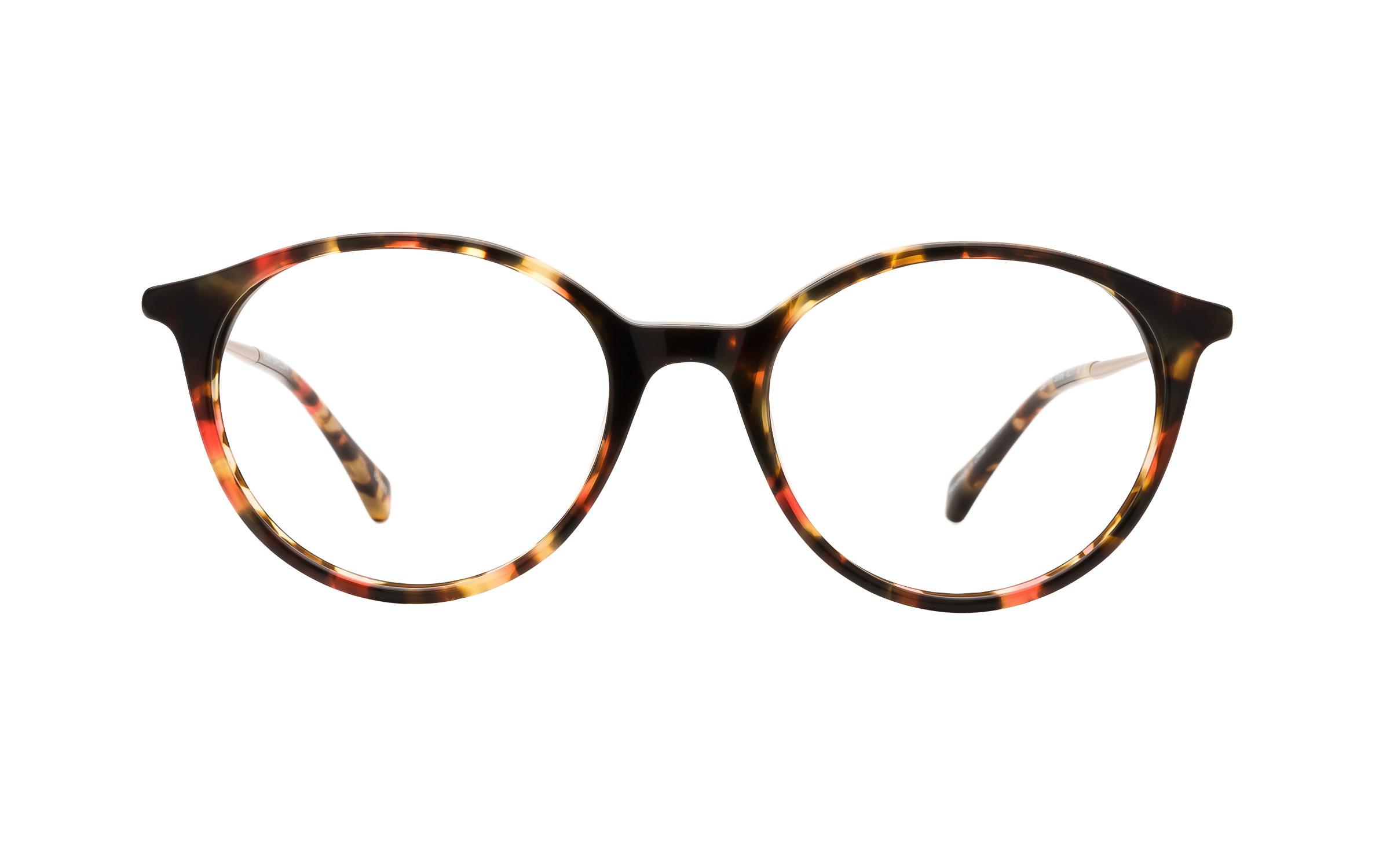 Kam_Dhillon_Womens_Glasses_Round_BrownRedTortoise_PlasticMetal_Online_Coastal