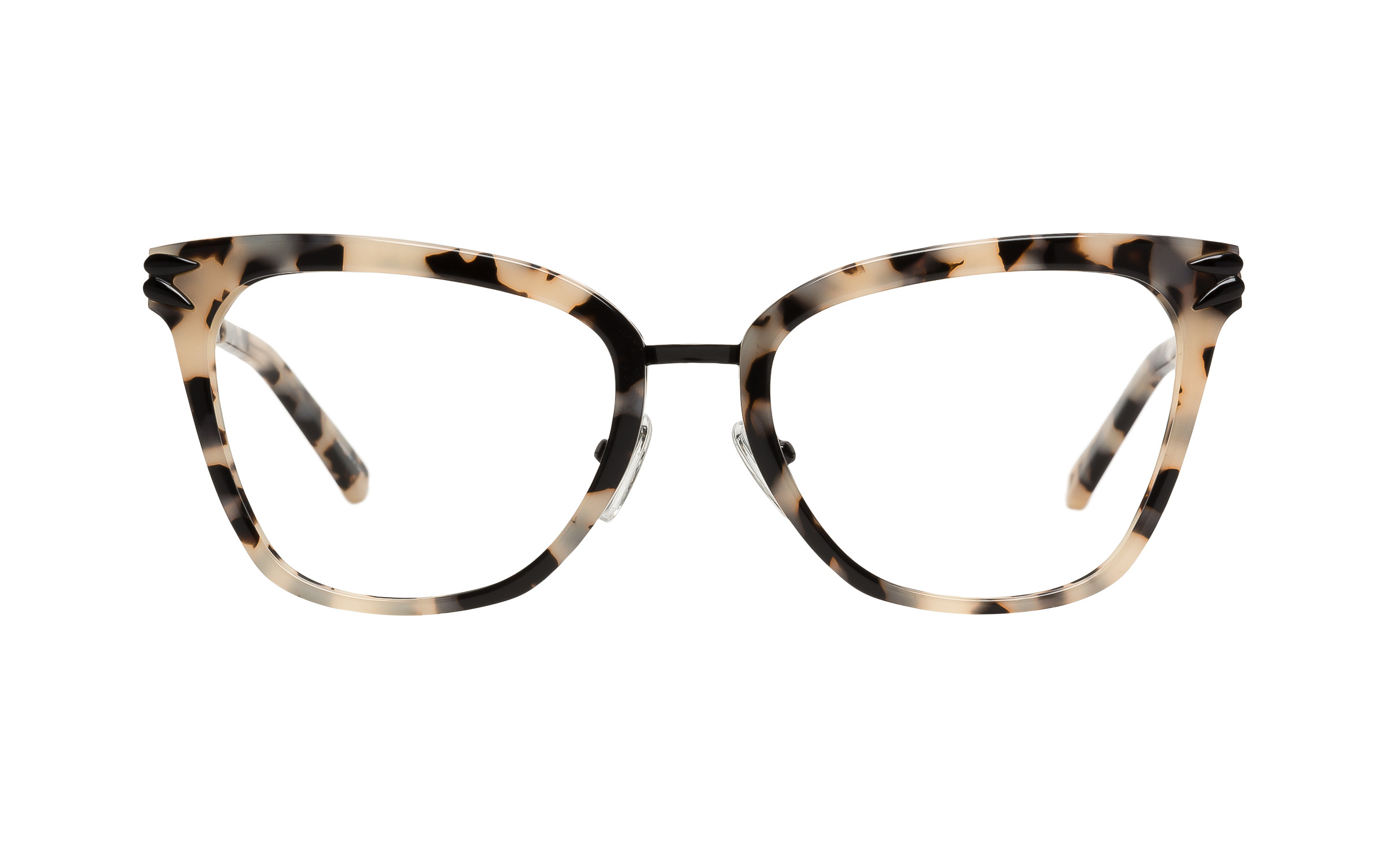 Kam Dhillon Evangelista White Tortoise Eyeglasses and Frames for ...