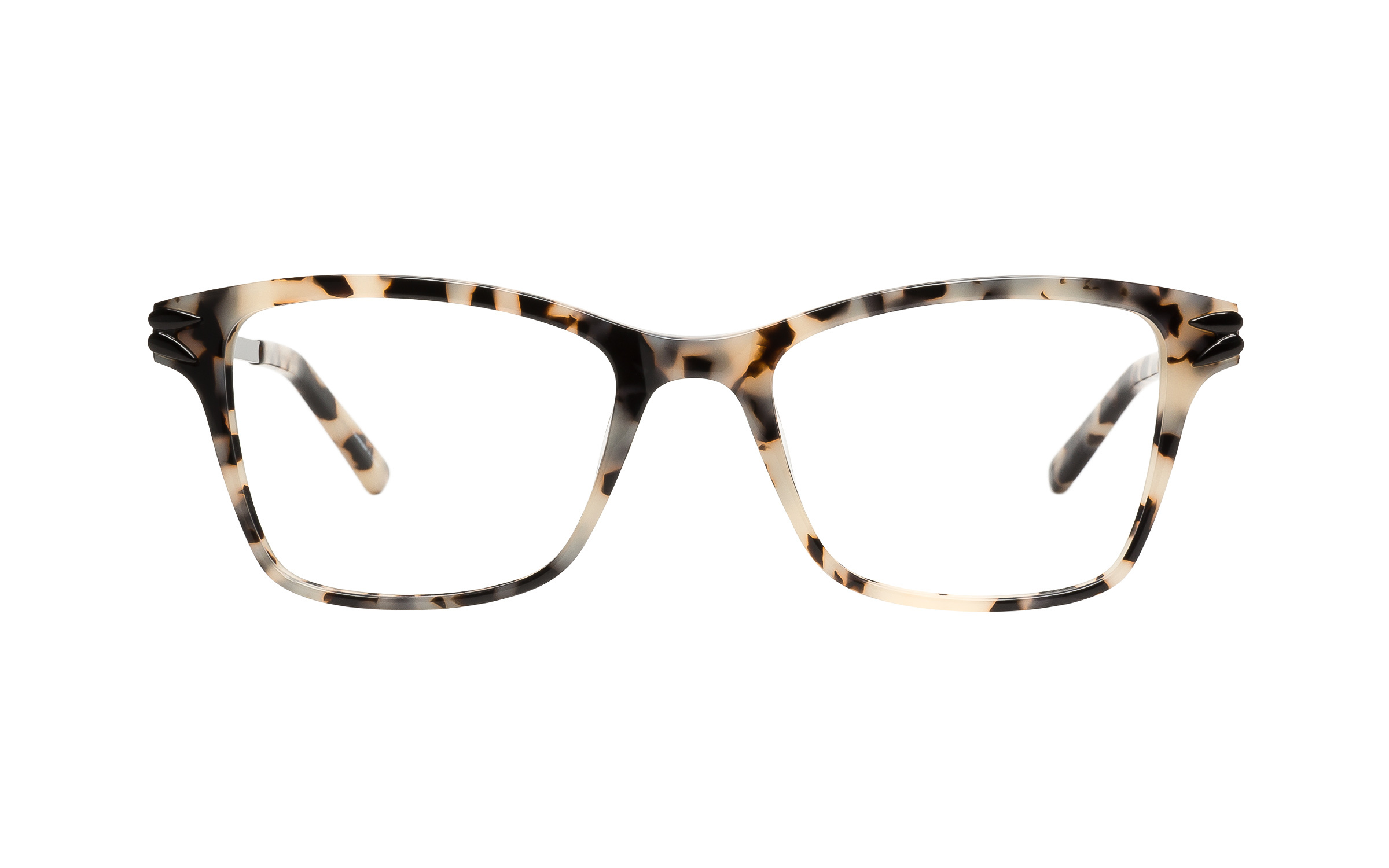 Kam Dhillon Hutton White Tortoise Eyeglasses and Frames for Women ...