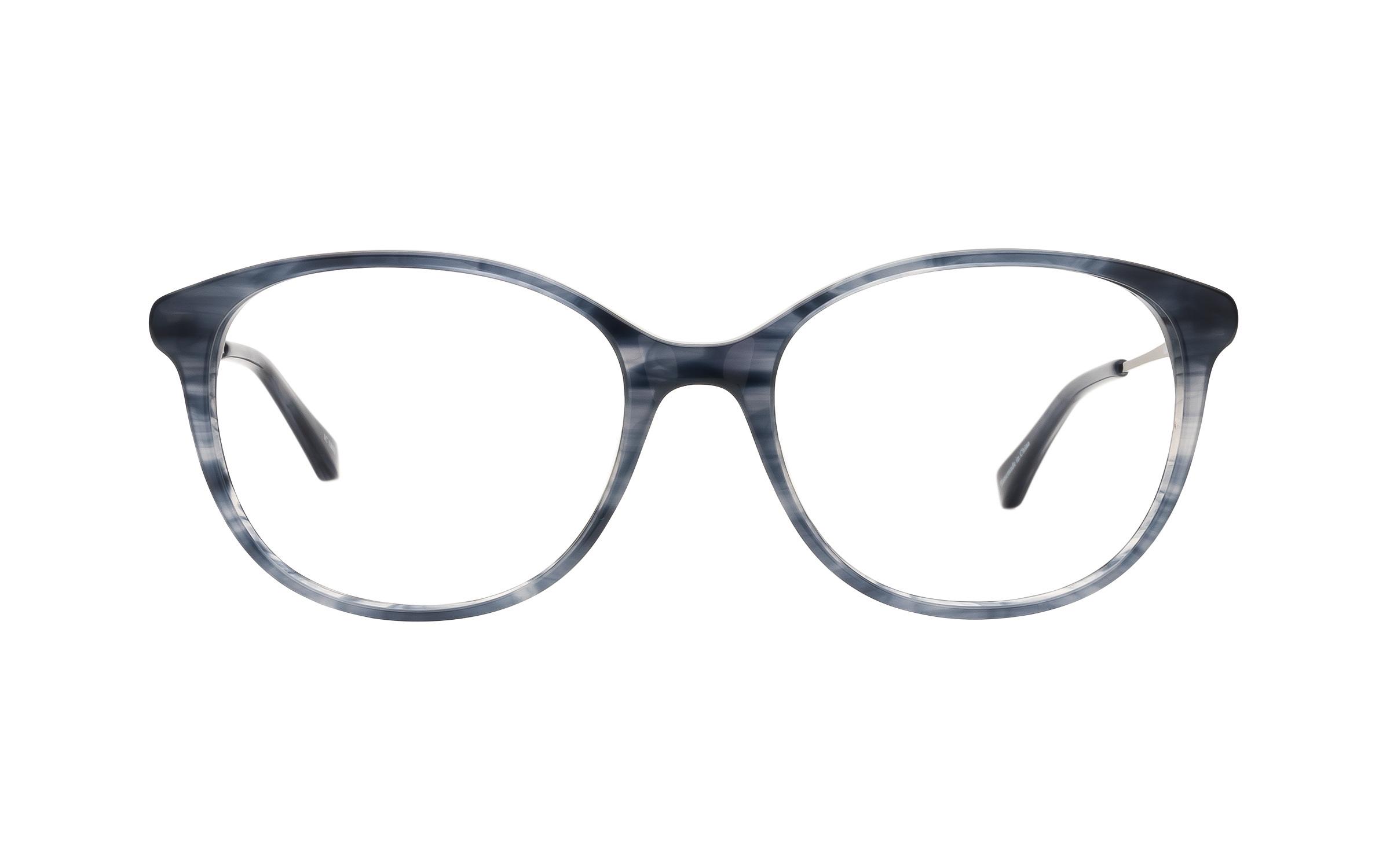Kam Dhillon Women's Glasses D-Frame Blue/Clear Acetate/Metal Online Coastal