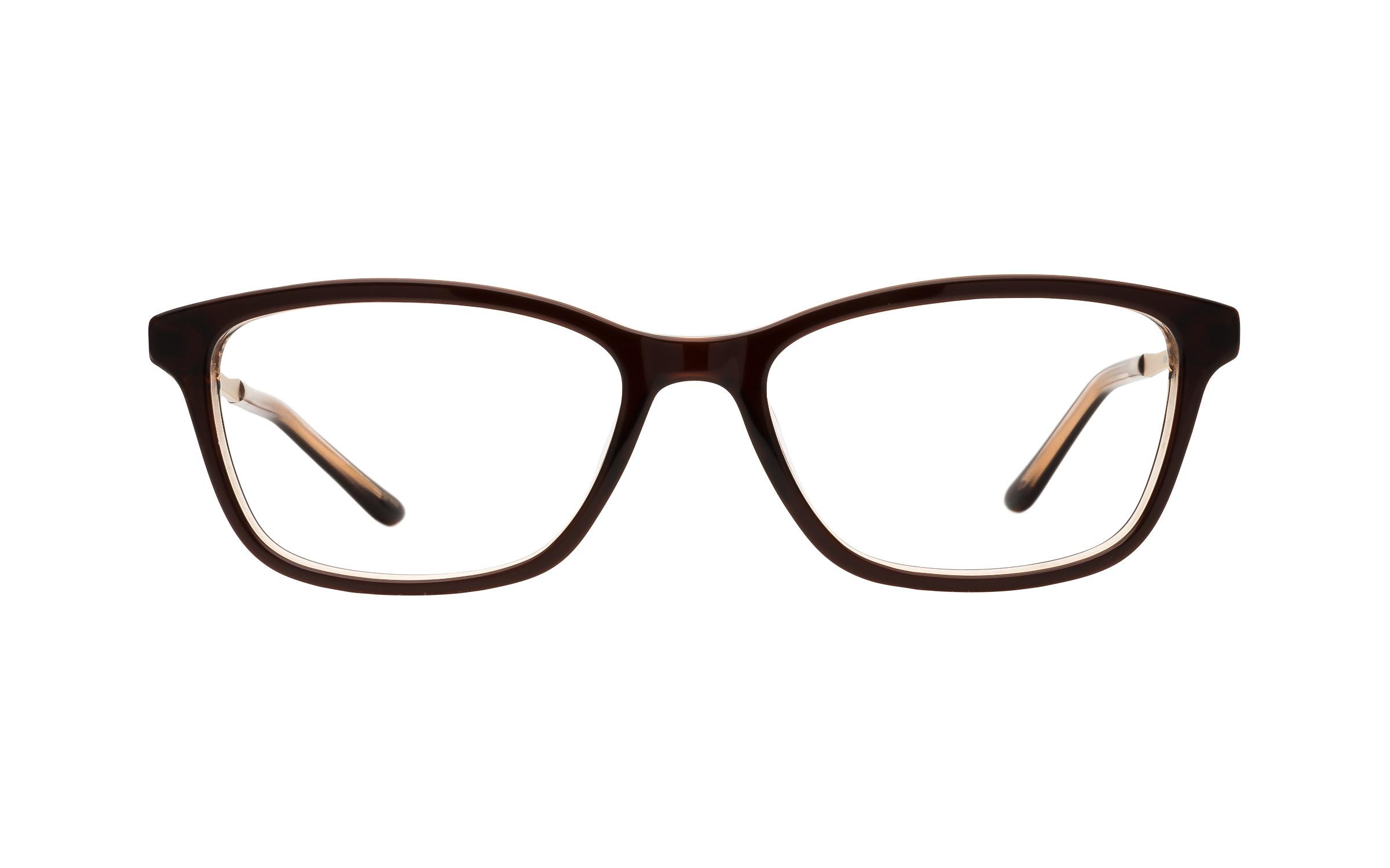 Kam Dhillon Women's Glasses Rectangular Brown Plastic/Metal Online Coastal