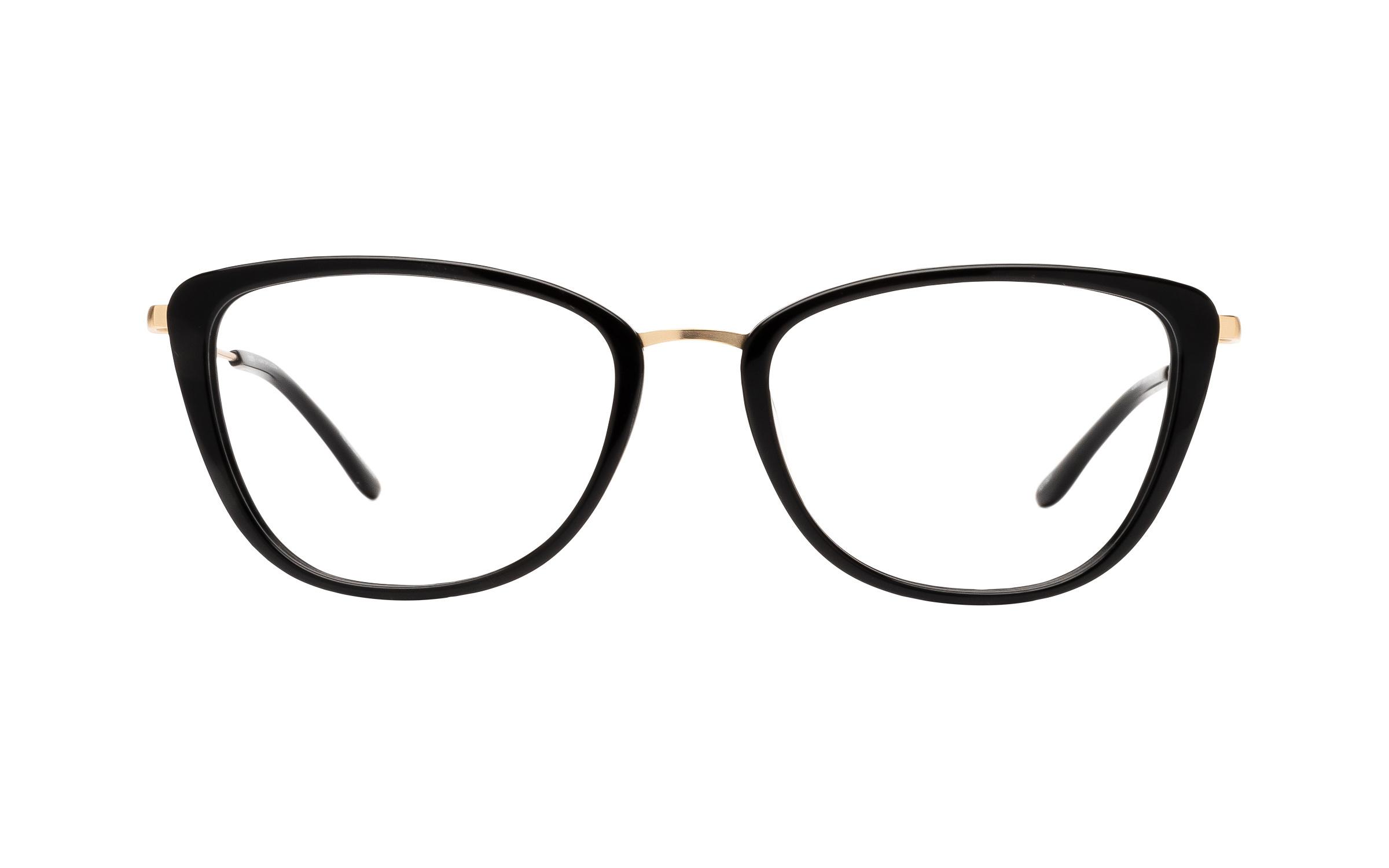 Kam Dhillon Lauren (54) Eyeglasses and Frame in Black | Acetate/Metal - Online Coastal