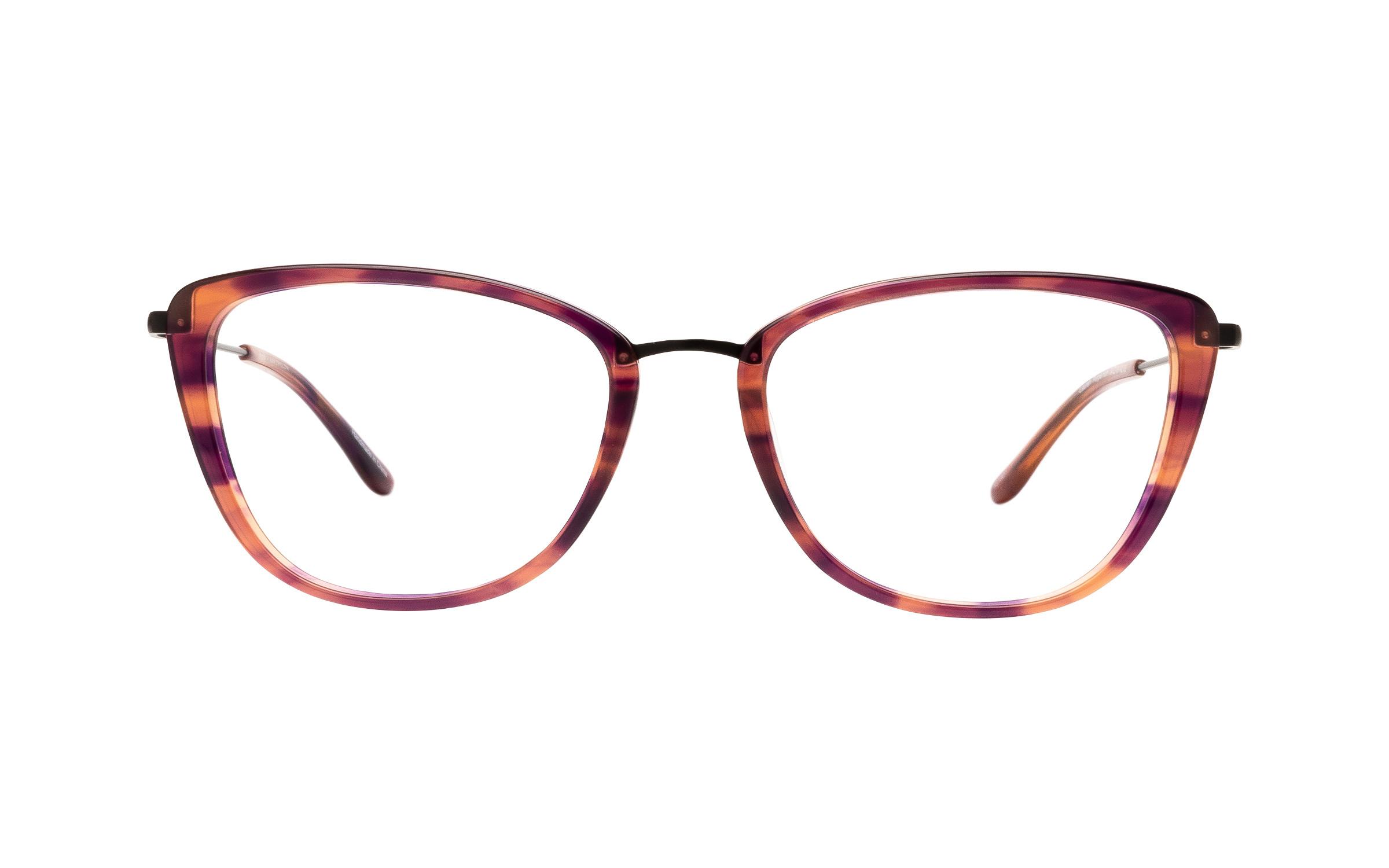 Kam Dhillon Lauren (54) Eyeglasses and Frame in Horn Purple | Acetate/Metal - Online Coastal